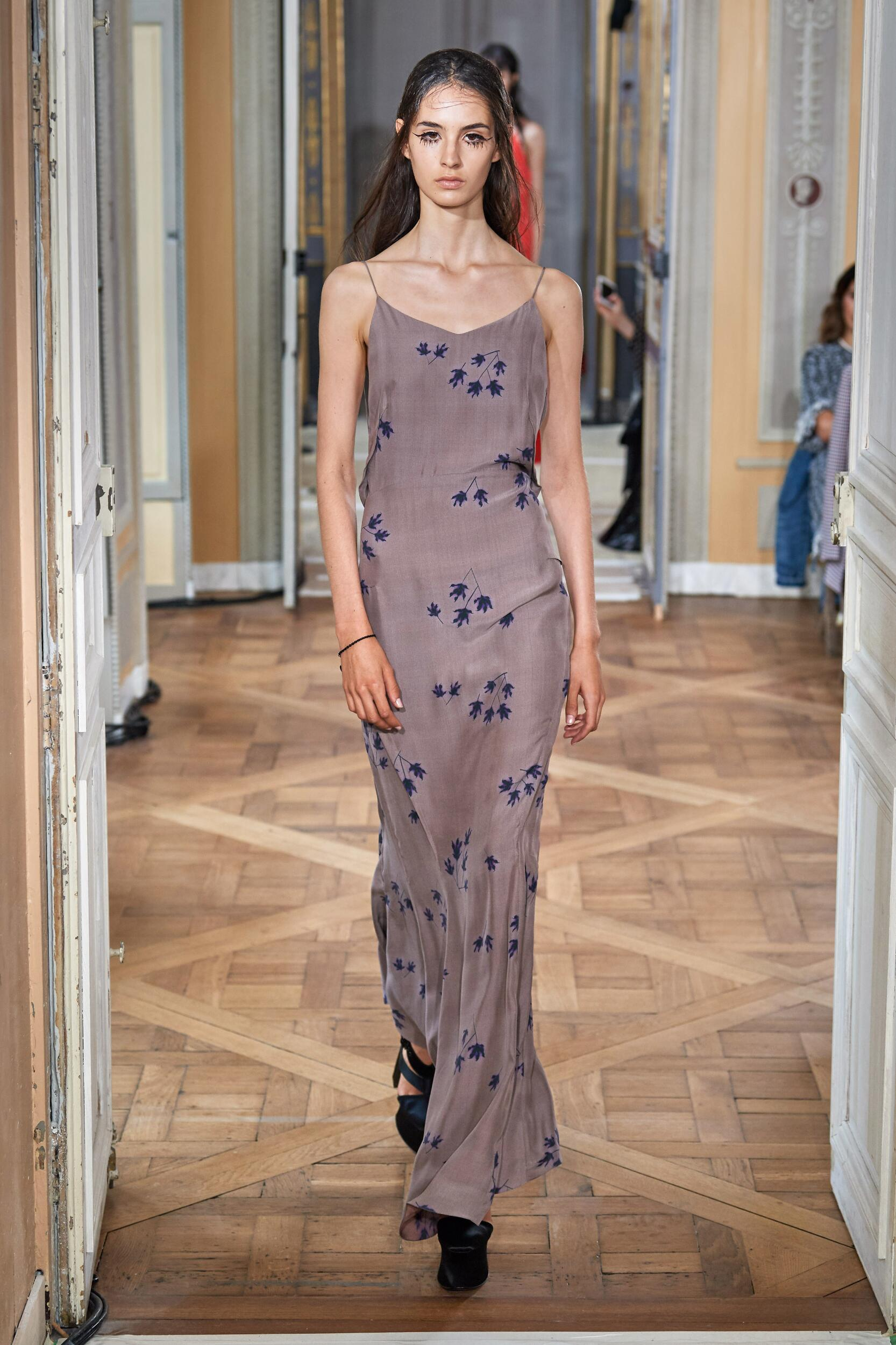 2020 Catwalk Olivier Theyskens Summer Woman Collection