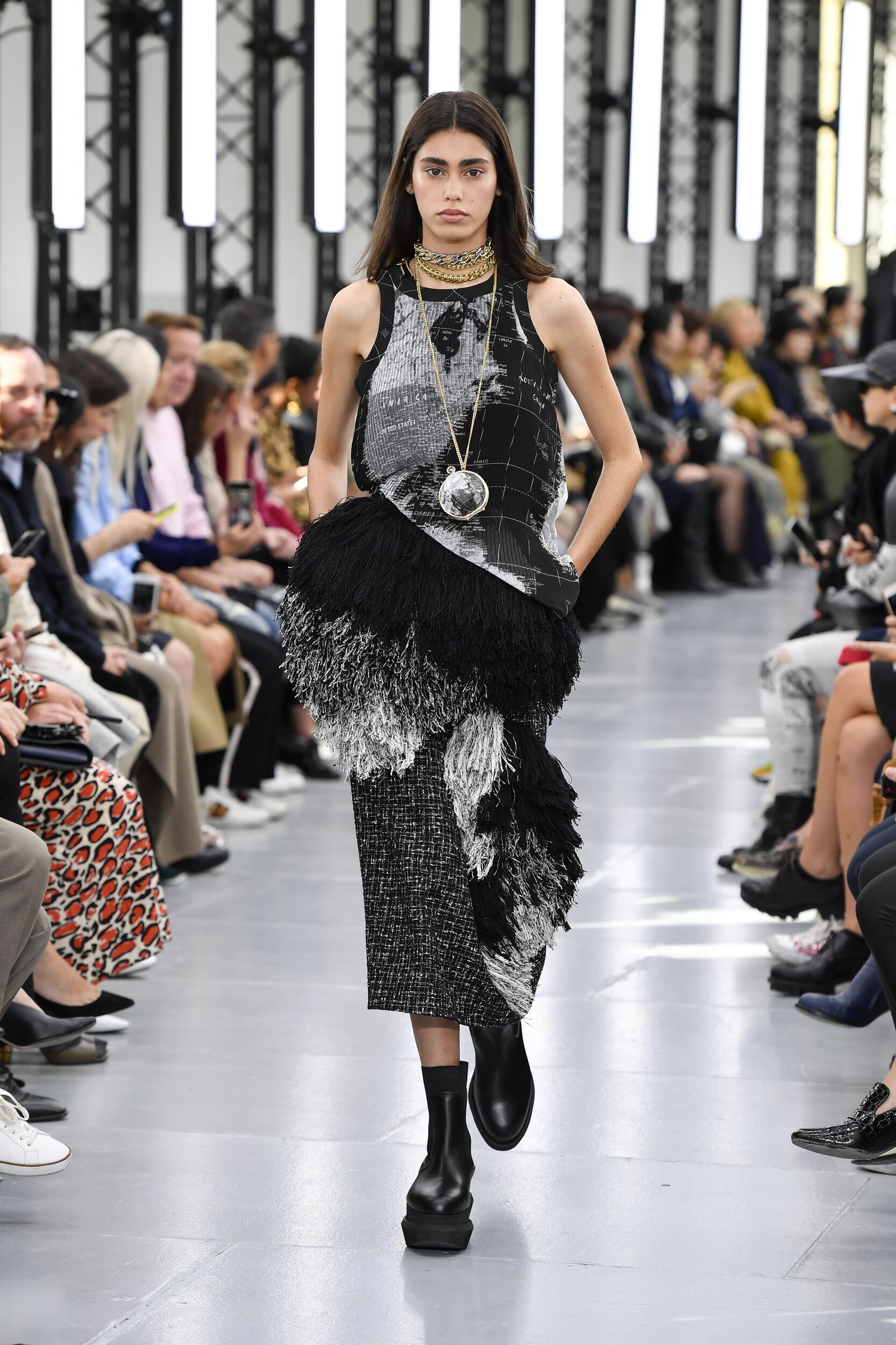 2020 Catwalk Sacai Fashion Show Summer