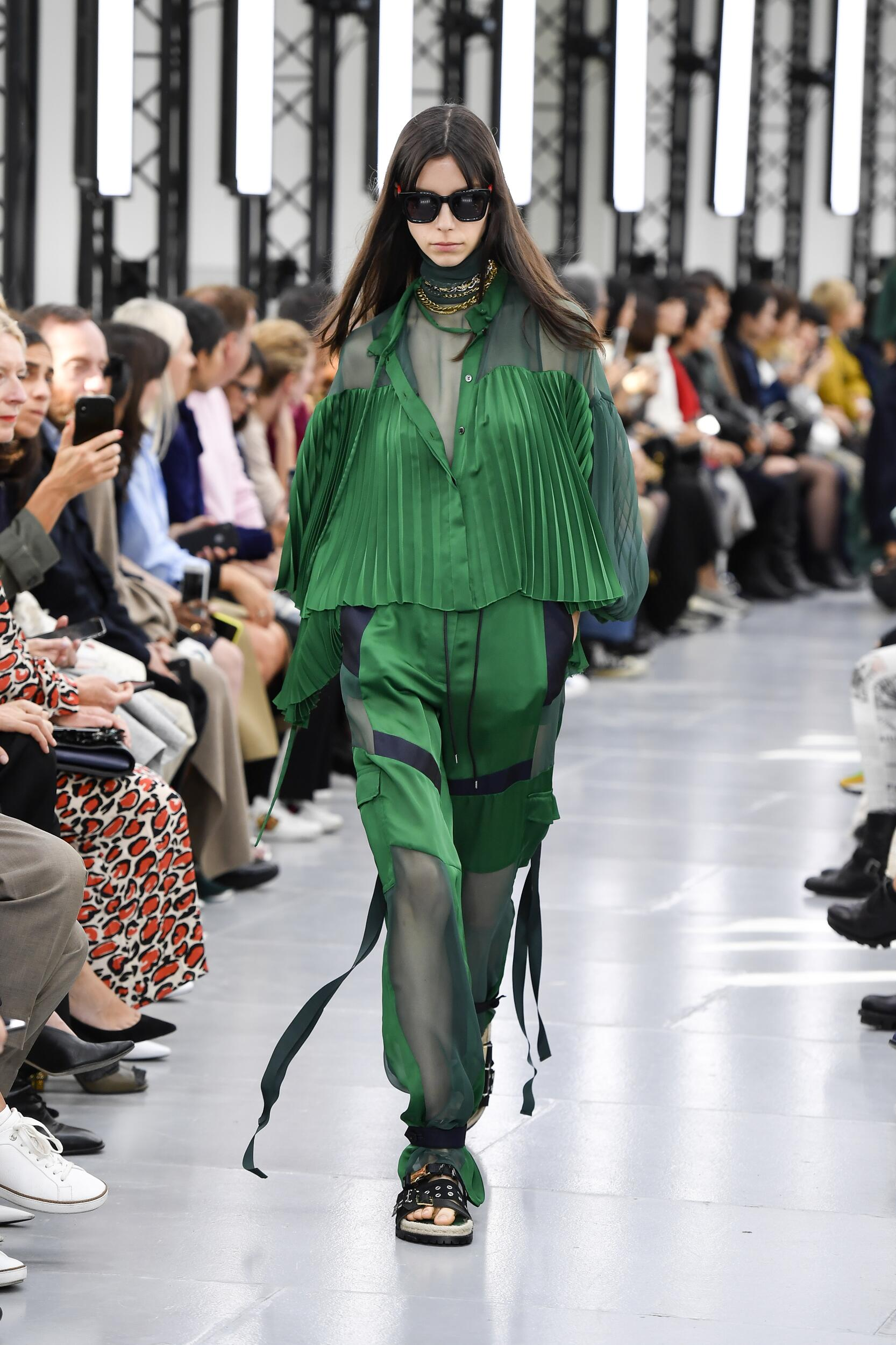 2020 Catwalk Sacai Summer Woman Collection