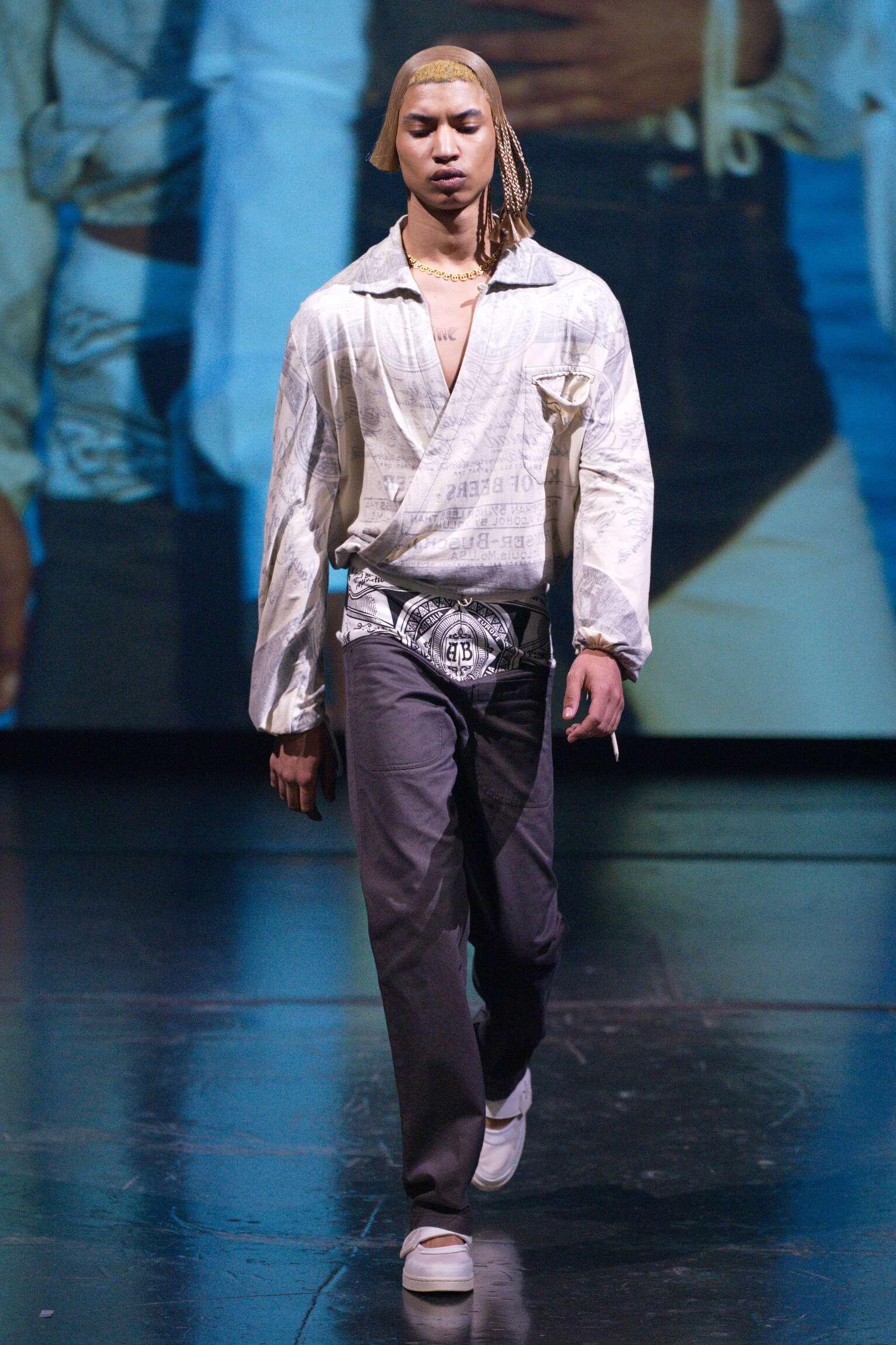 2020 Catwalk Telfar Fashion Show Summer