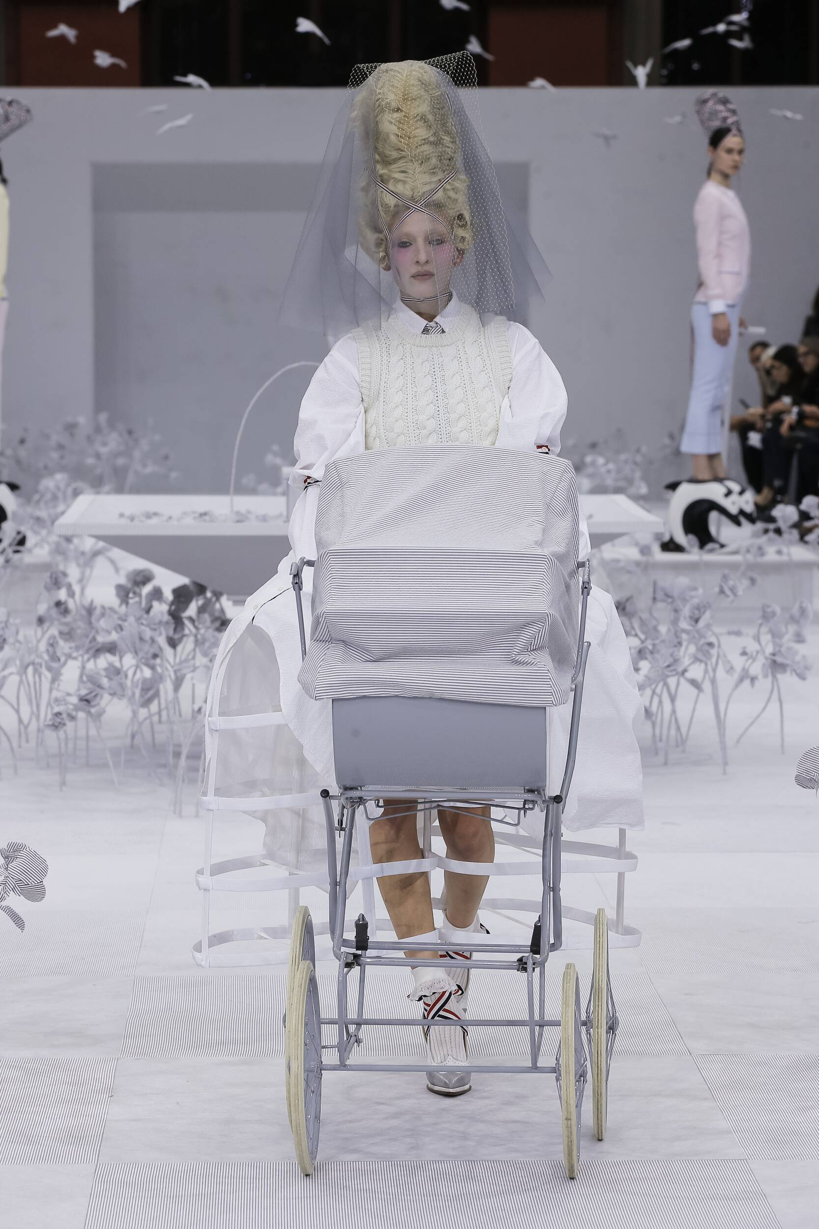 2020 Catwalk Thom Browne Summer Woman Collection