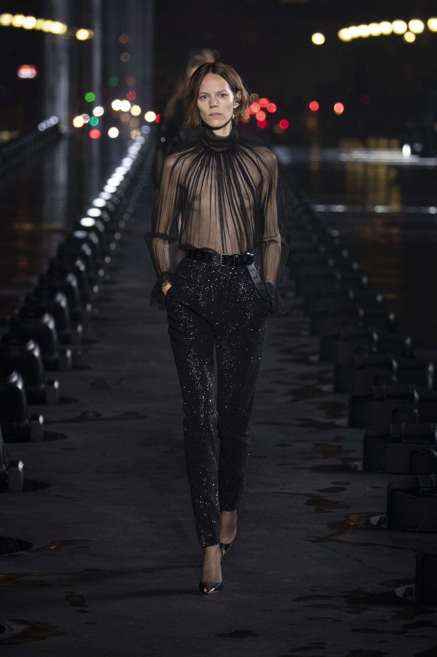 2020 Saint Laurent Trends Paris Fashion Week