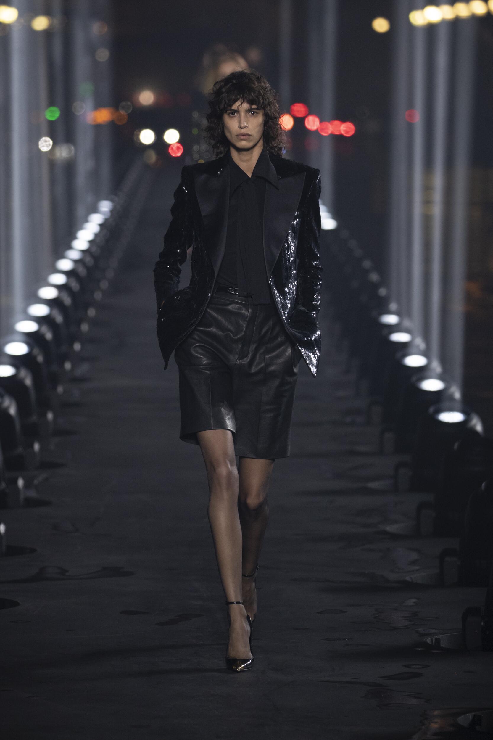 2020 Saint Laurent Trends Paris Fashion