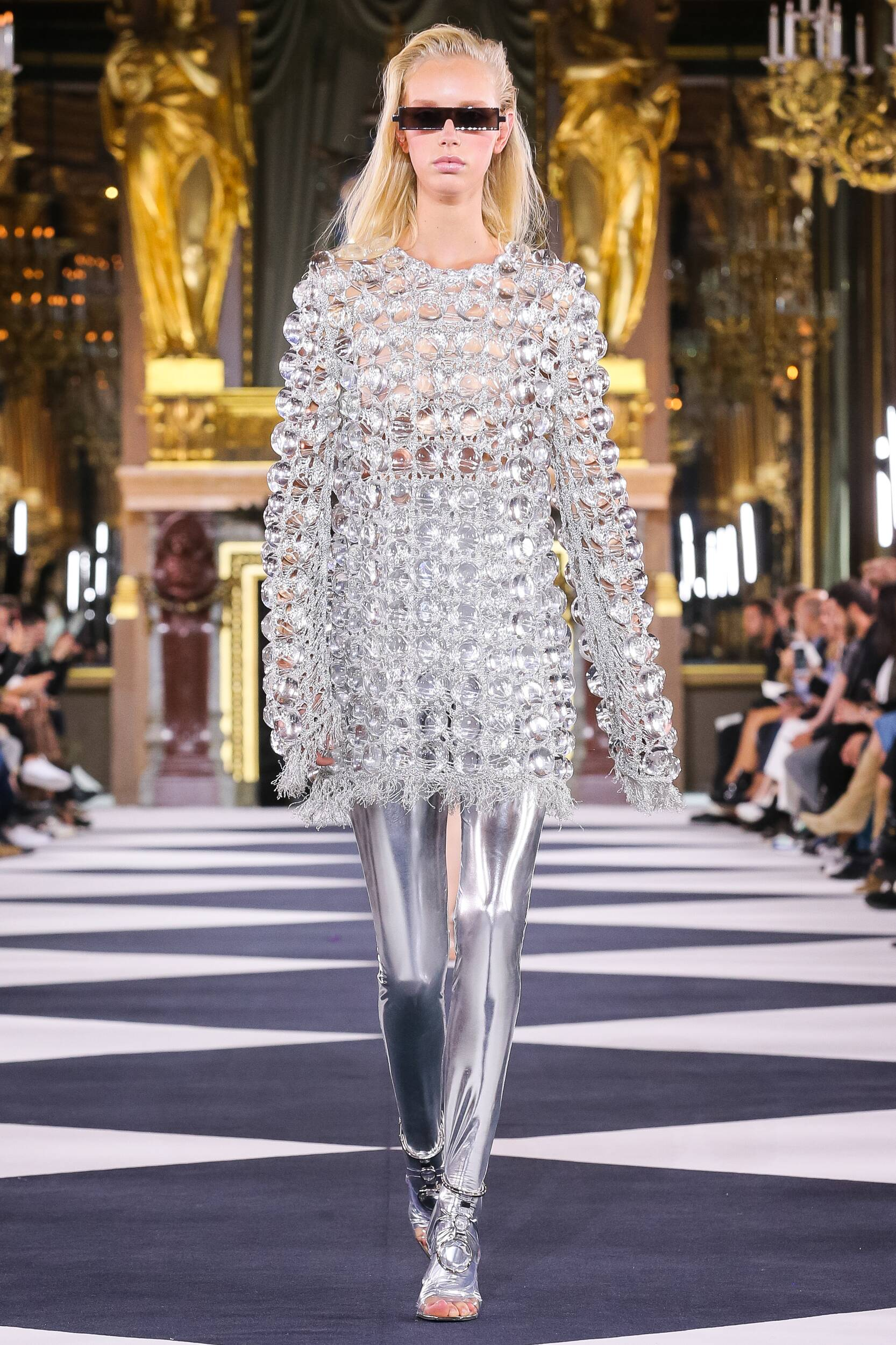 2020 Woman Balmain Trends Paris Fashion Week