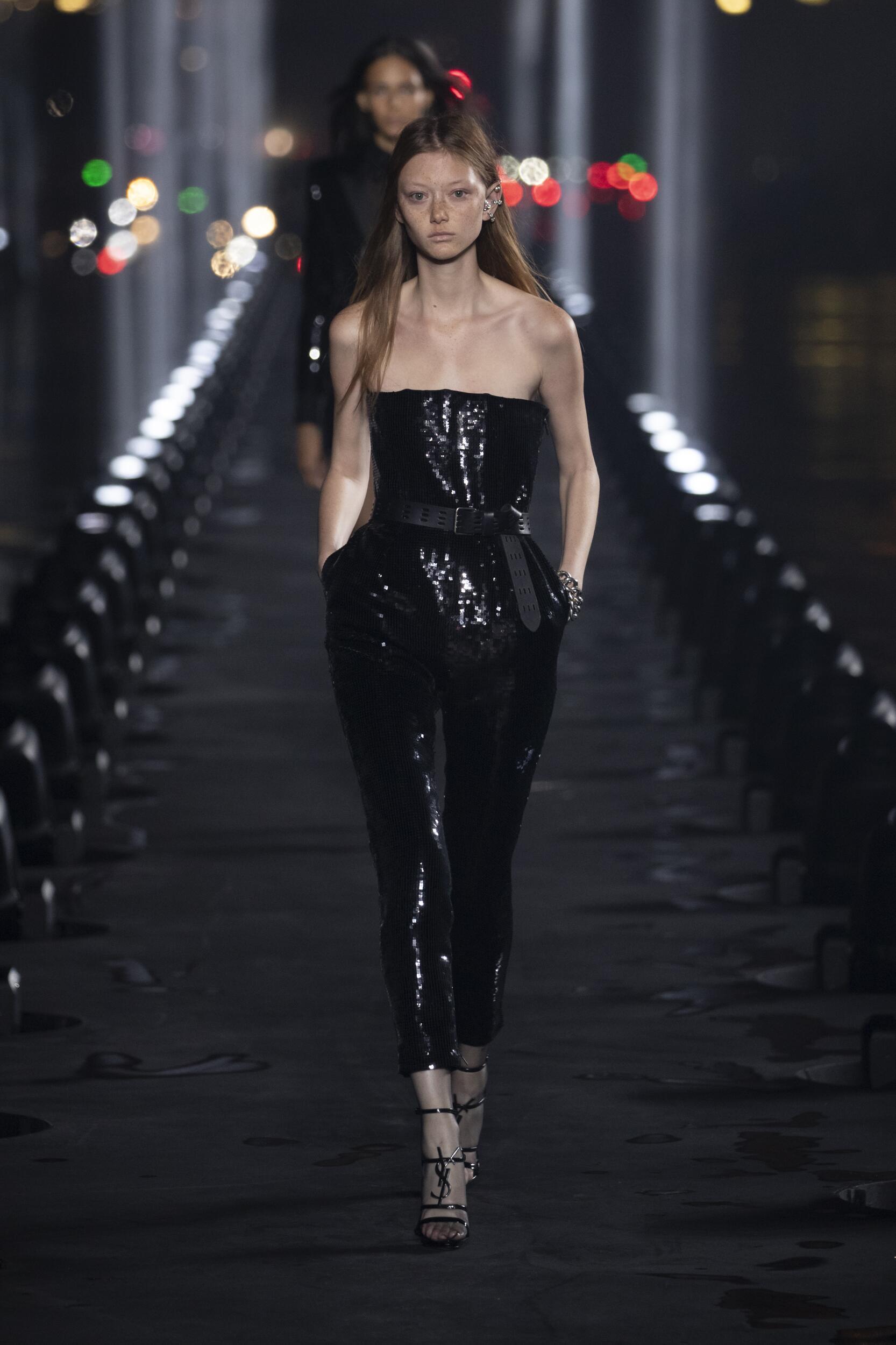 2020 Woman Saint Laurent Trends Paris Fashion Week