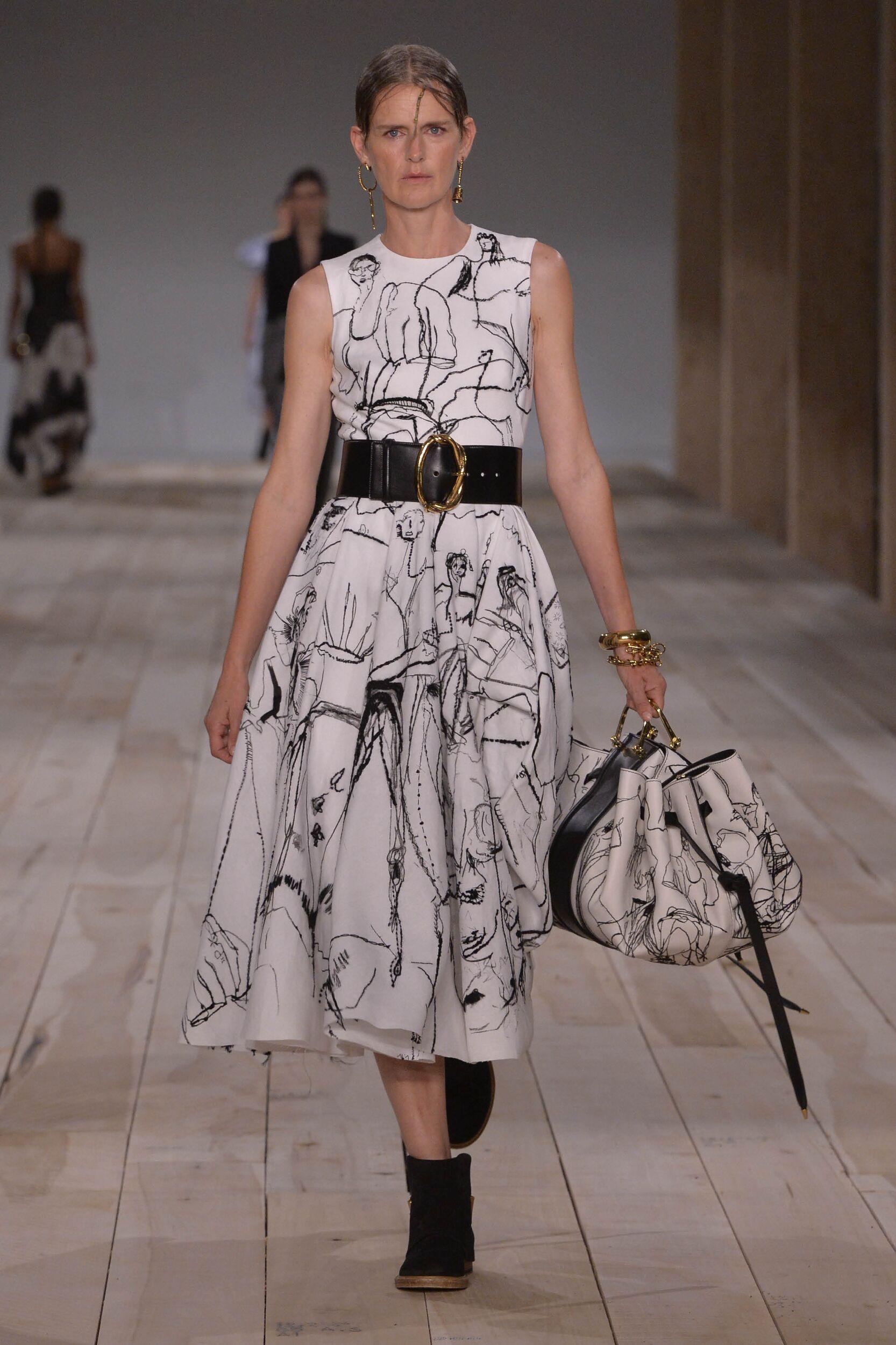 Alexander McQueen Spring Summer 2020 Collection Paris Fashion Week