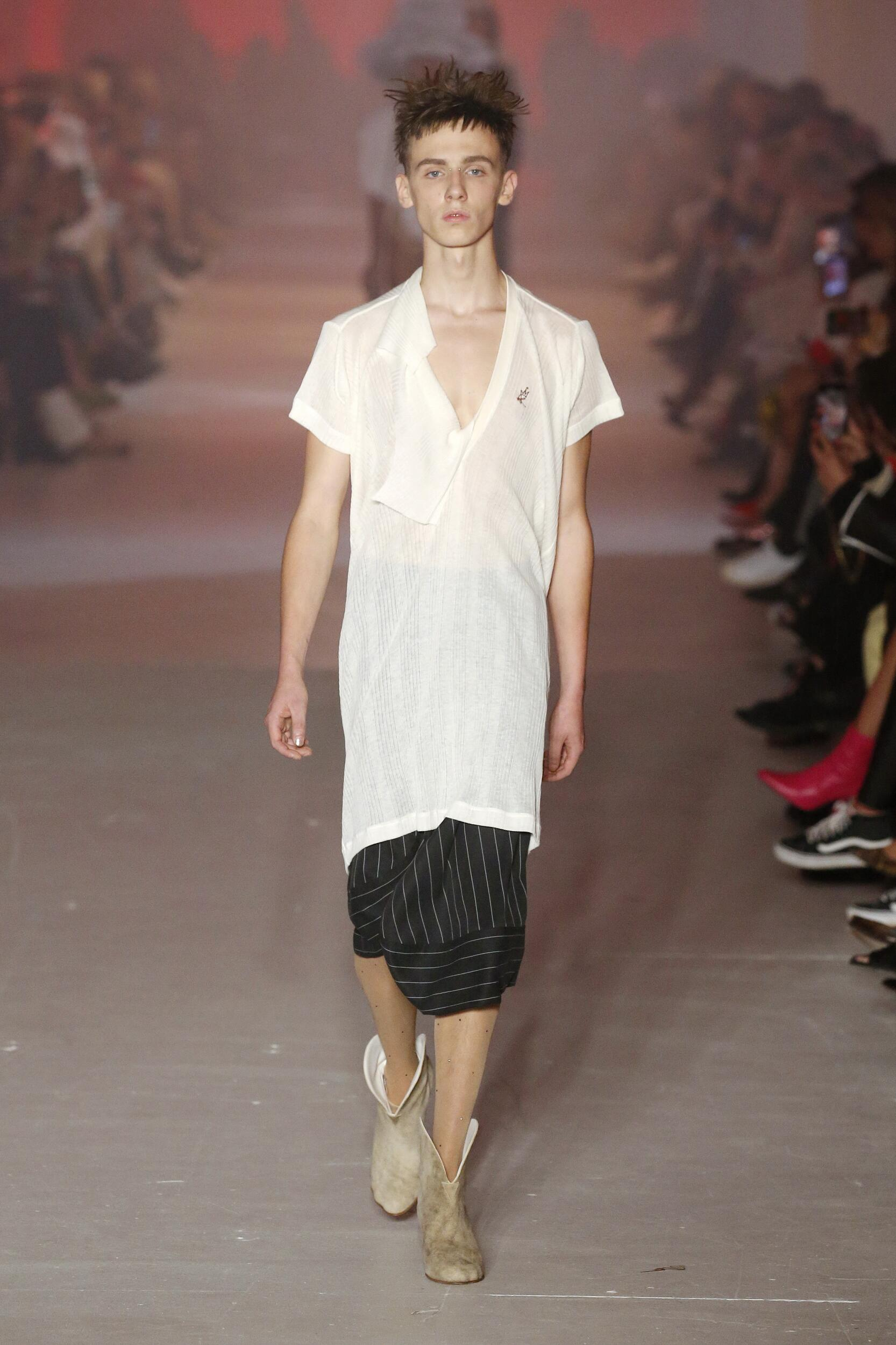 Andreas Kronthaler for Vivienne Westwood Fashion Show SS 2020