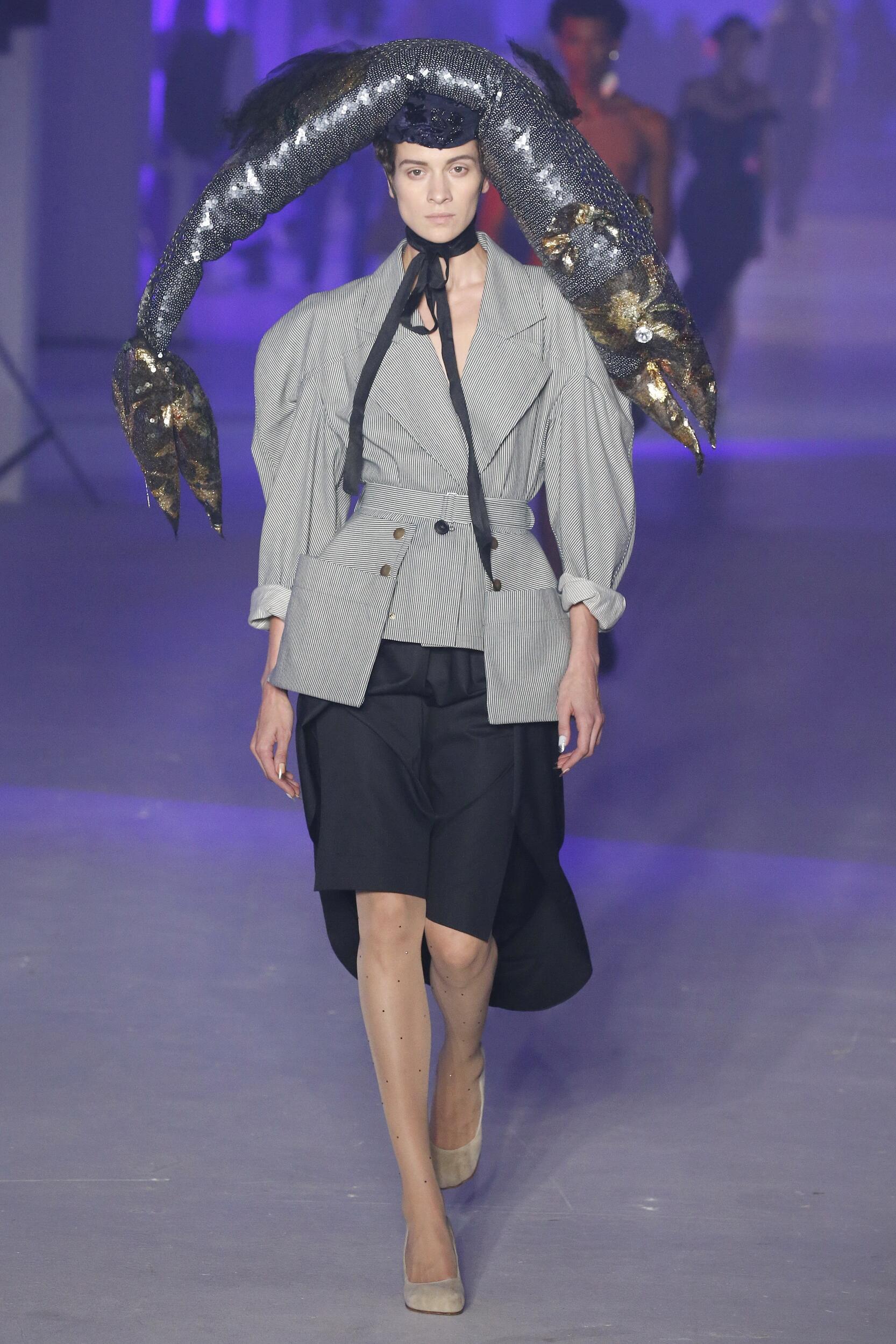 Andreas Kronthaler for Vivienne Westwood Spring 2020 Catwalk
