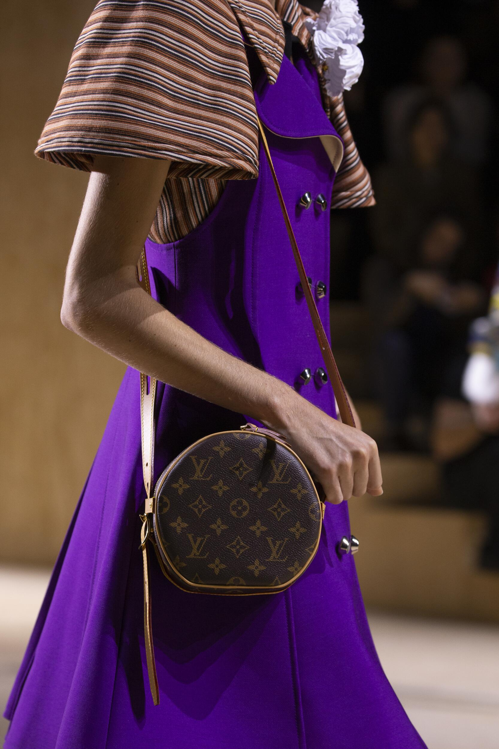 Bag DetailLouis Vuitton Catwalk