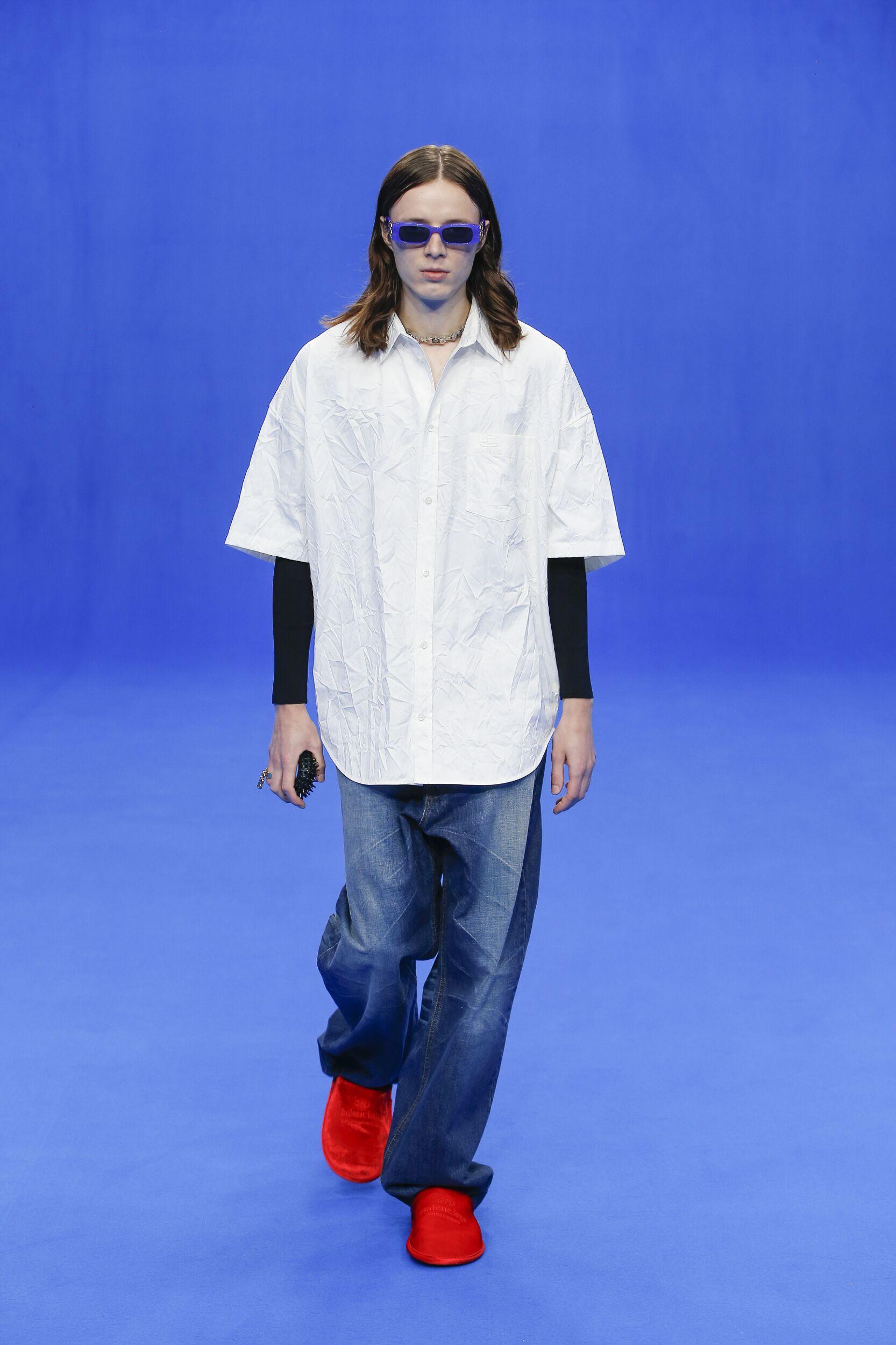 Balenciaga 2020 Paris Trends Menswear