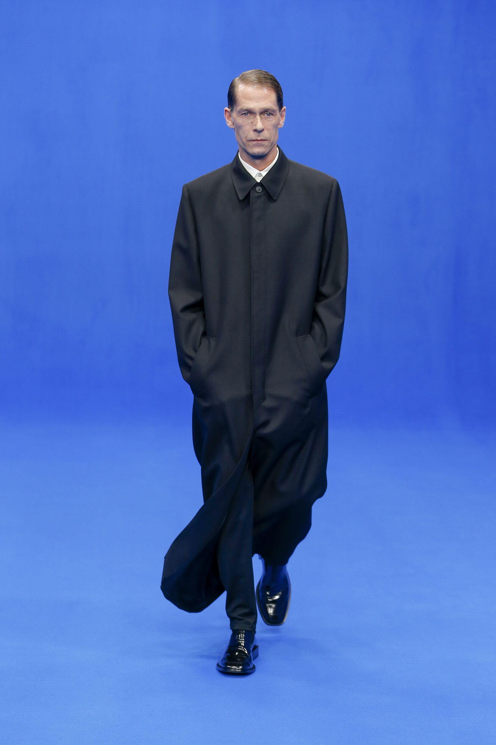 Balenciaga Menswear Collection Style