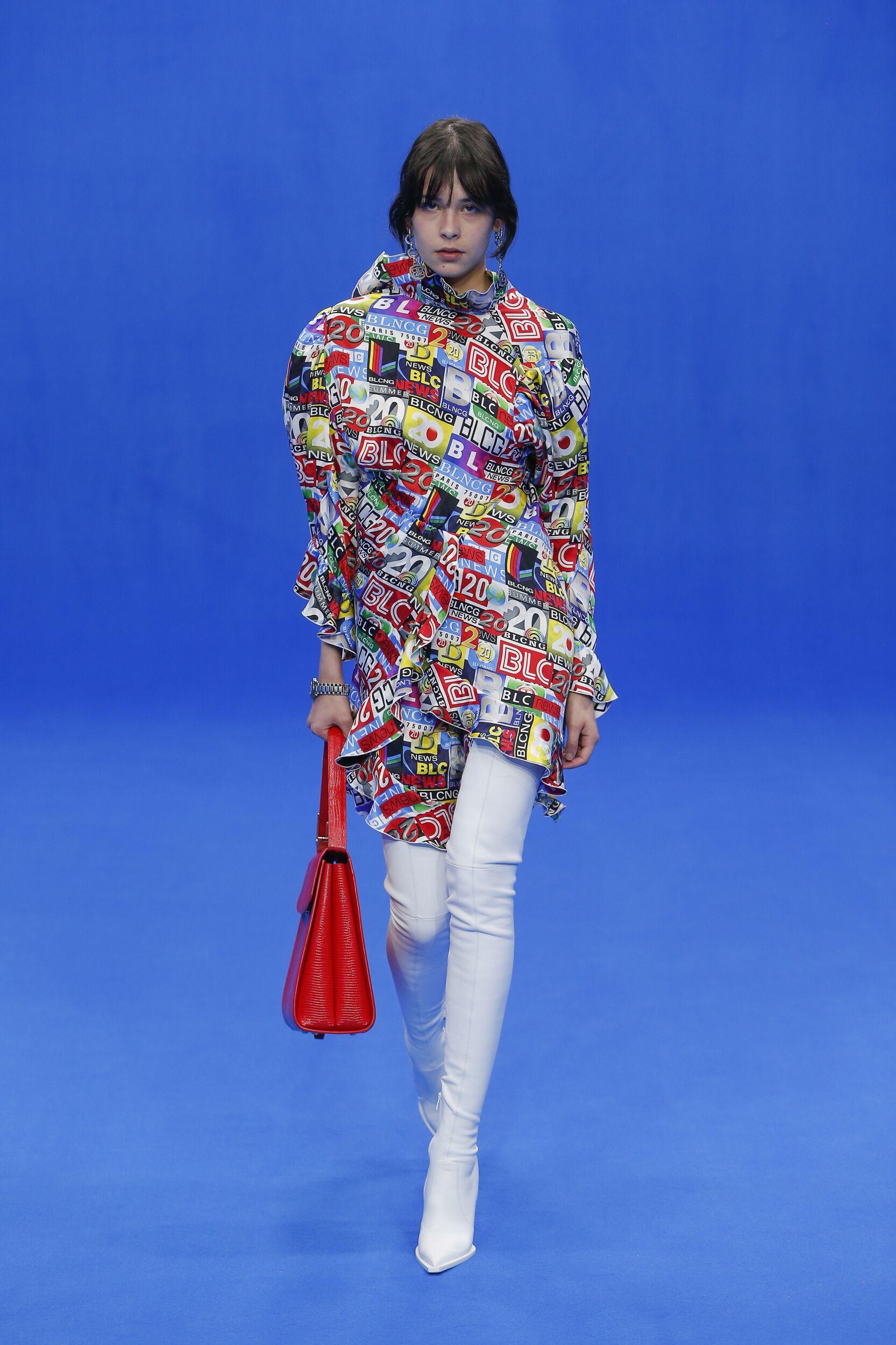 Balenciaga Paris Fashion Week Womenswear