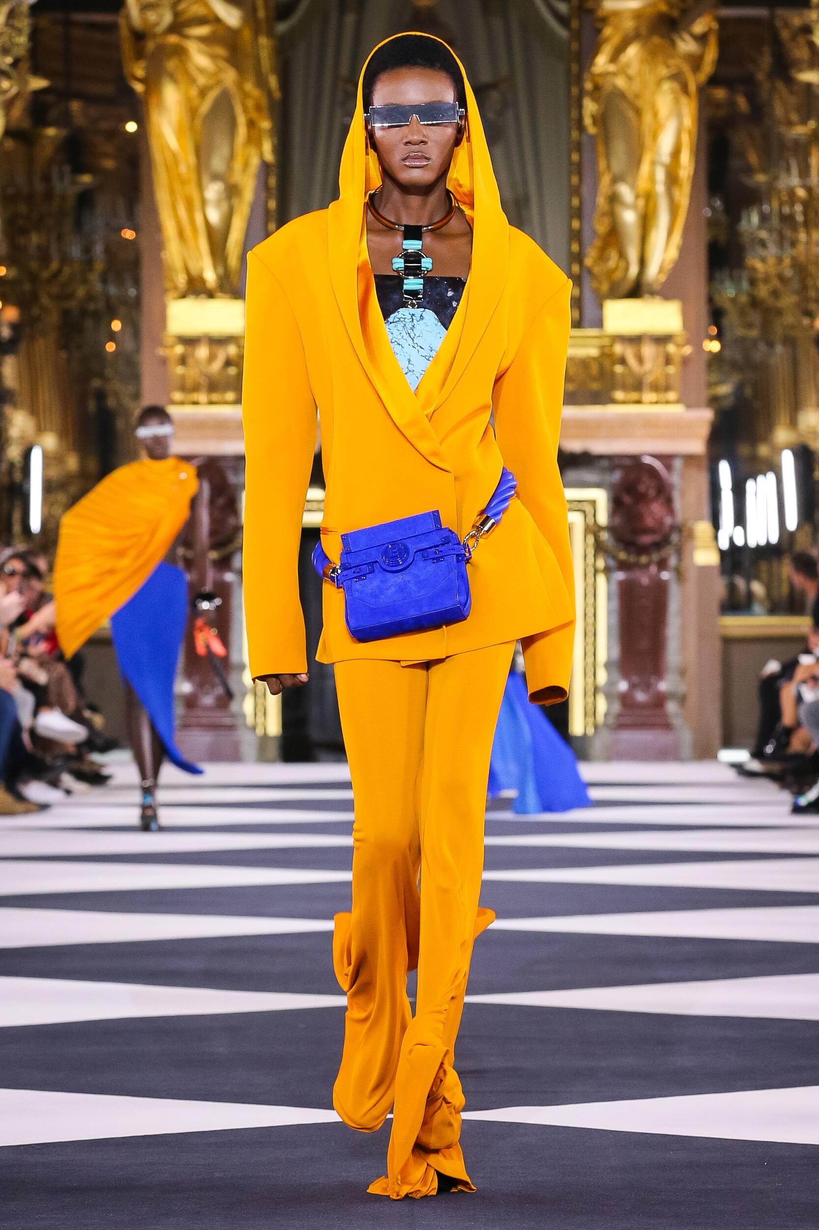Balmain 2020 Paris Trends