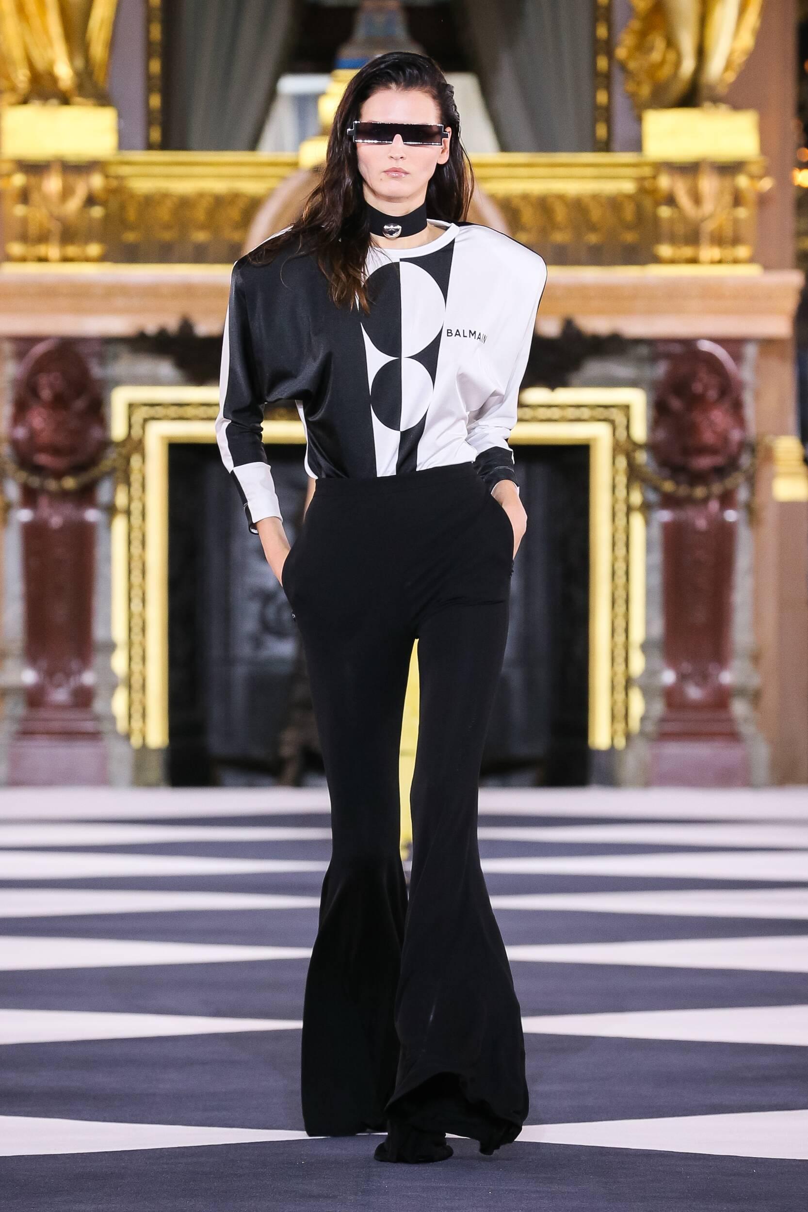 Balmain Spring Summer 2020 Collection Paris Fashion Week