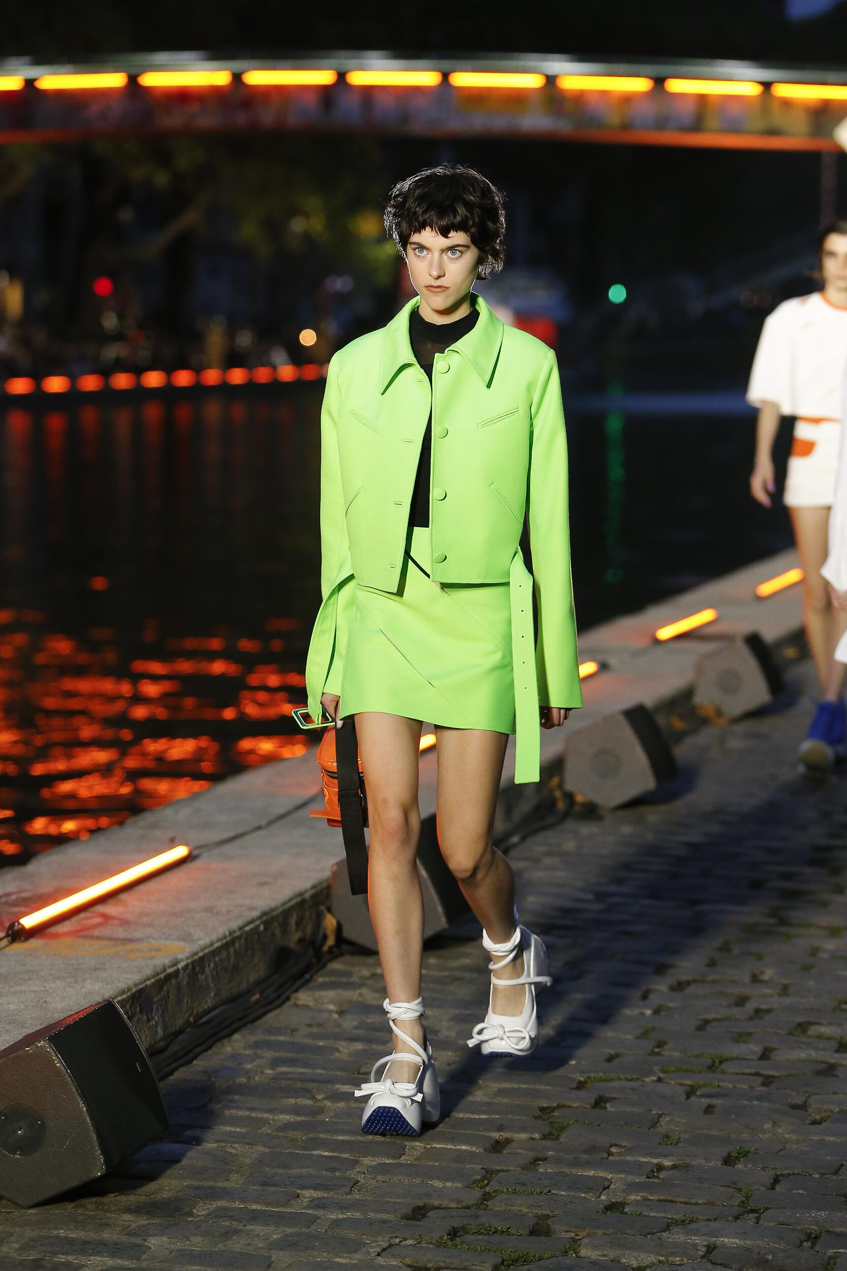 Catwalk Courrèges Woman Fashion Show Summer 2020