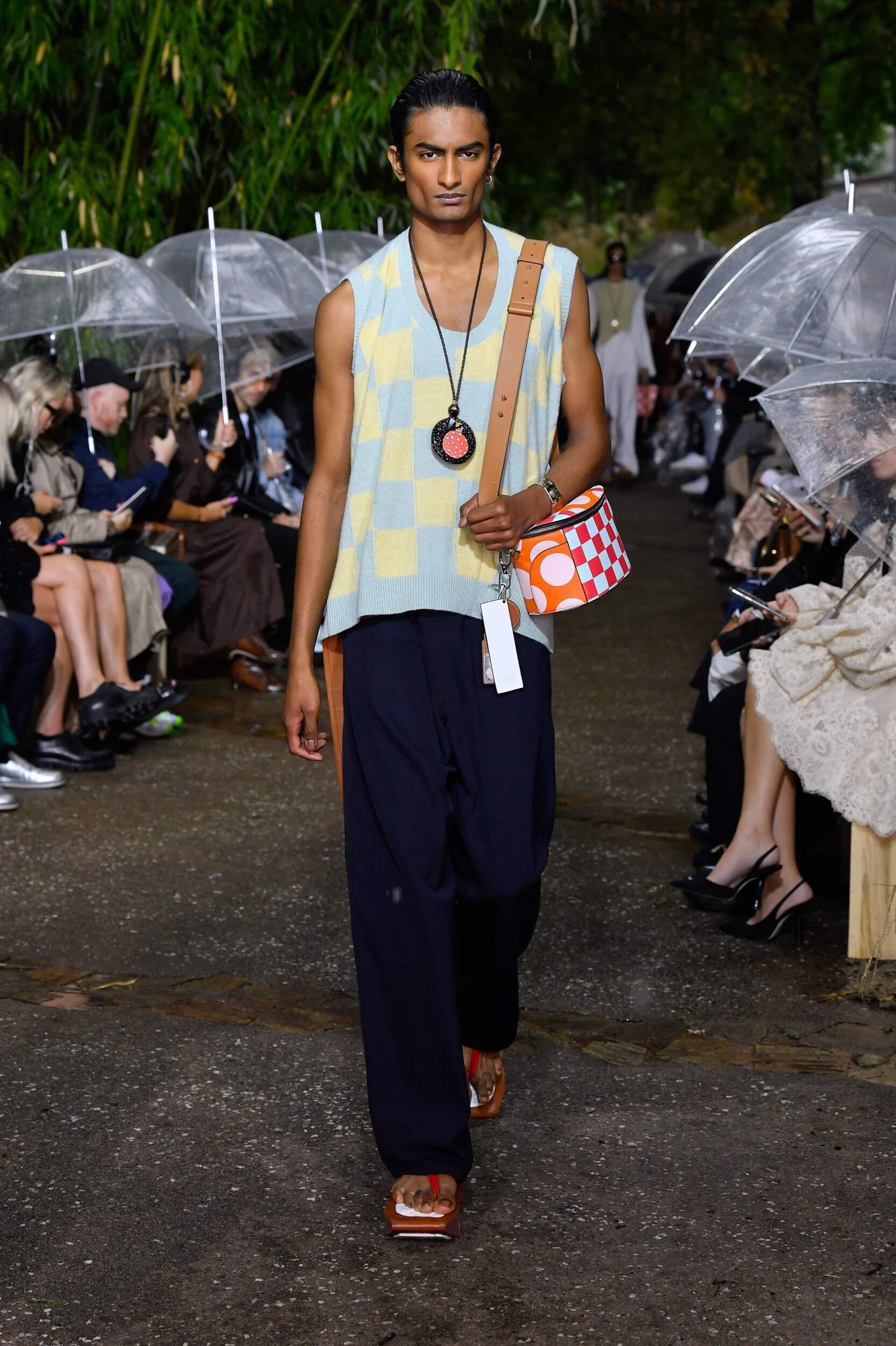 Catwalk Lanvin Man Fashion Show Summer 2020