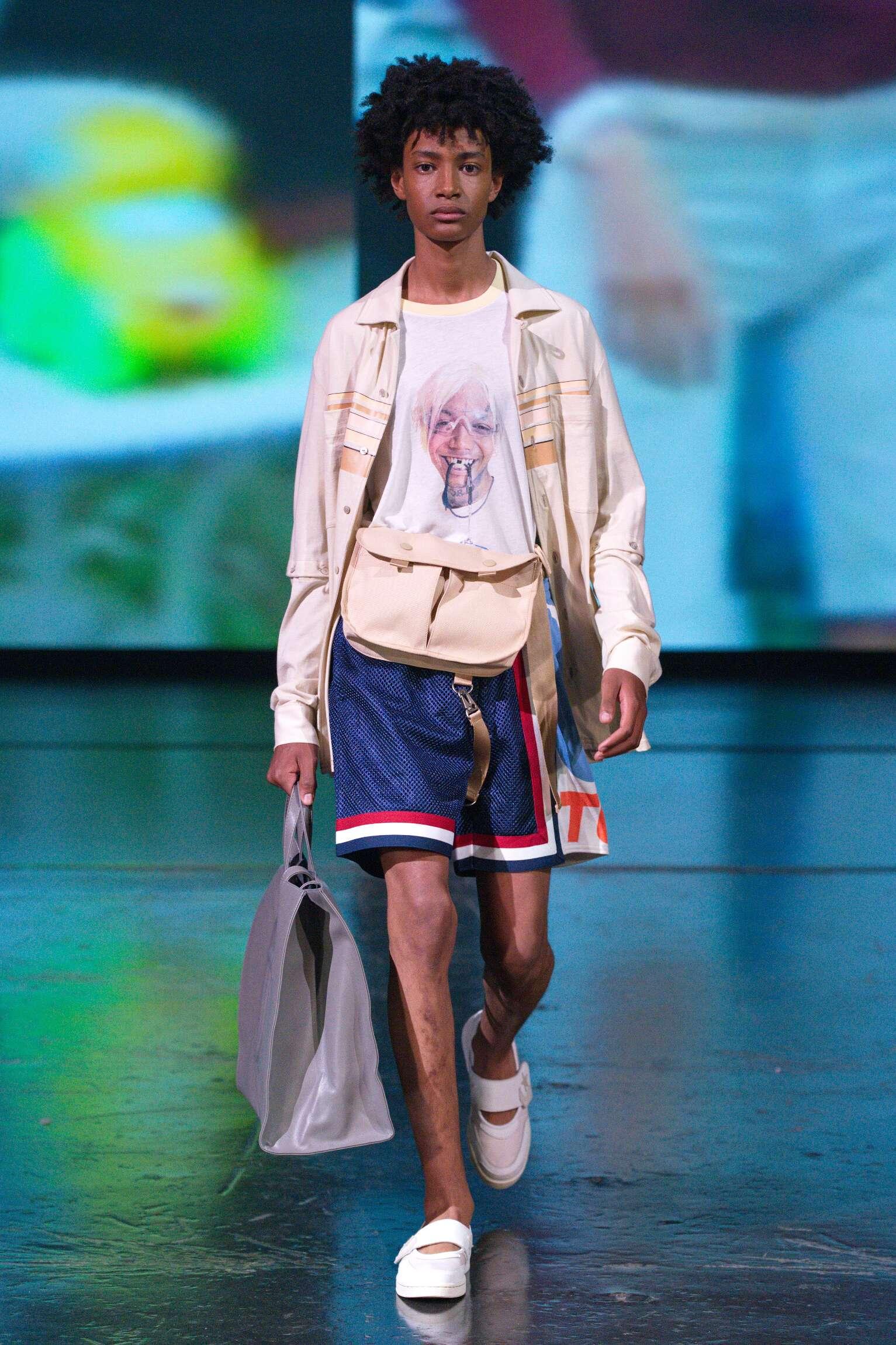 Catwalk Telfar Man Fashion Show Summer 2020