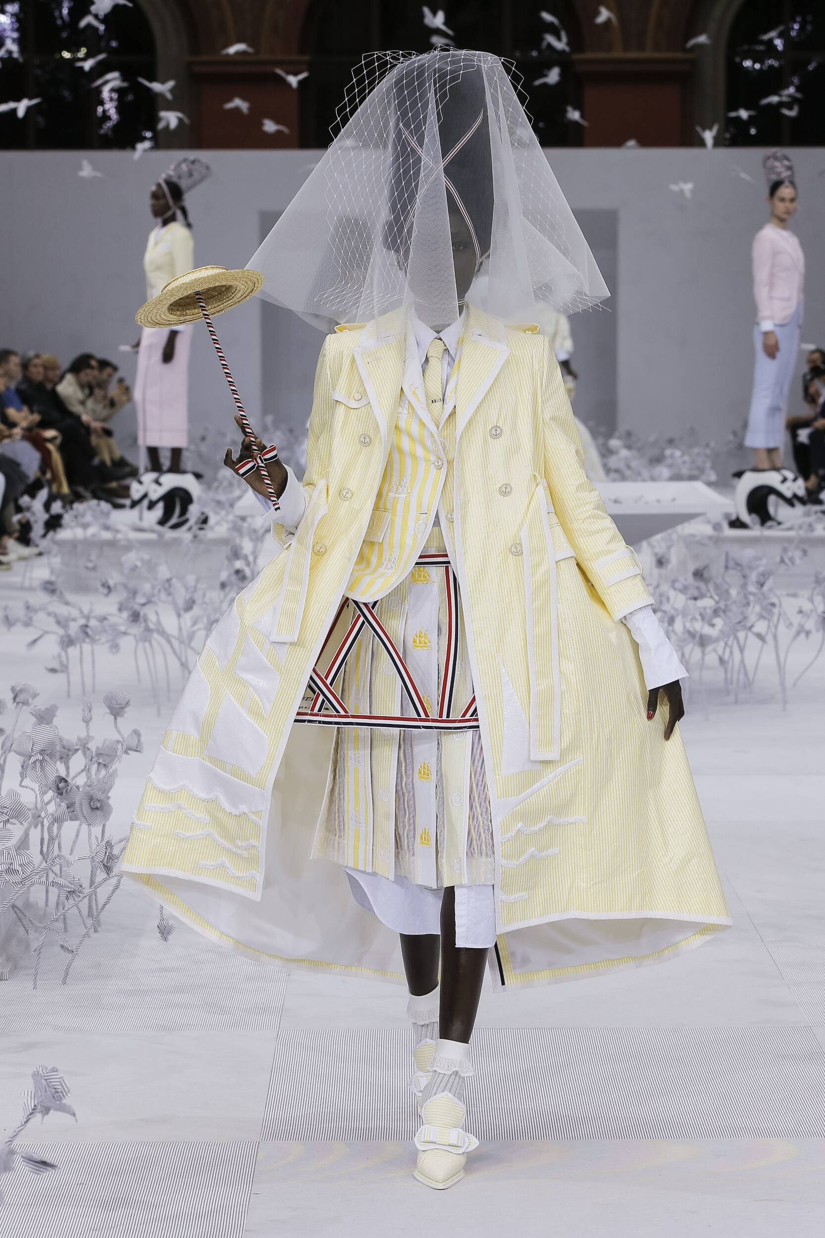Catwalk Thom Browne Woman Fashion Show Summer 2020