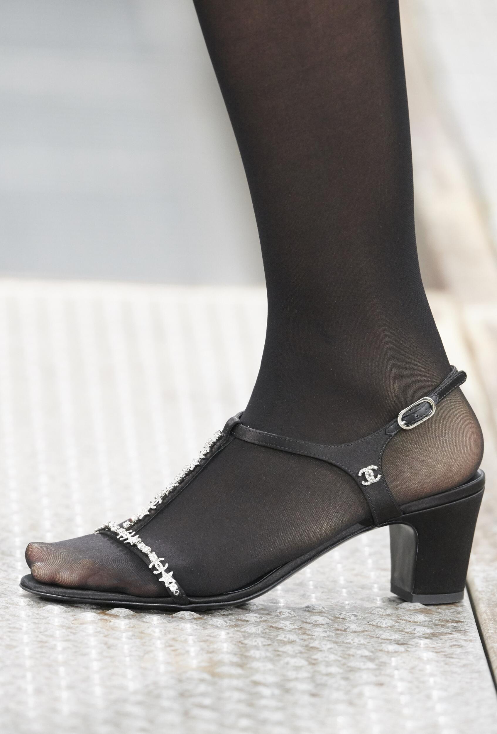 Chanel Spring Summer 2020 Shoe Detail