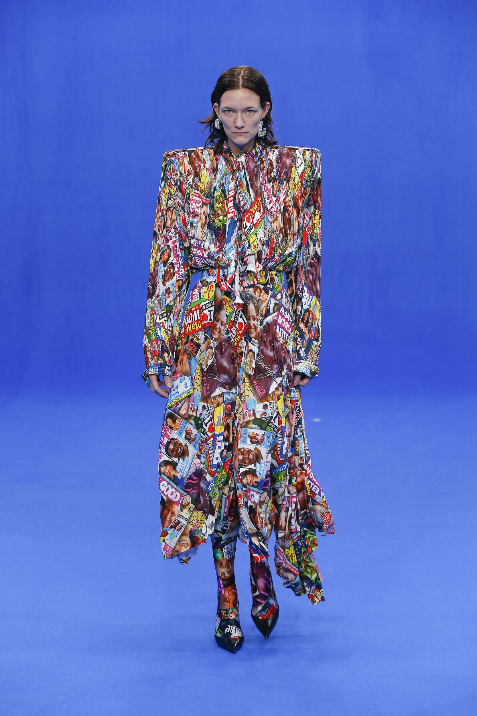 Fashion 2020 Catwalk Balenciaga