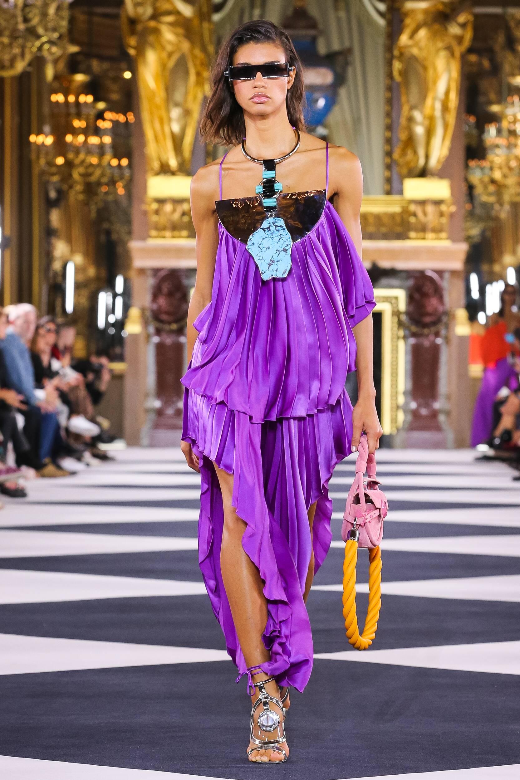 Fashion 2020 Catwalk Balmain Summer Womens Collection