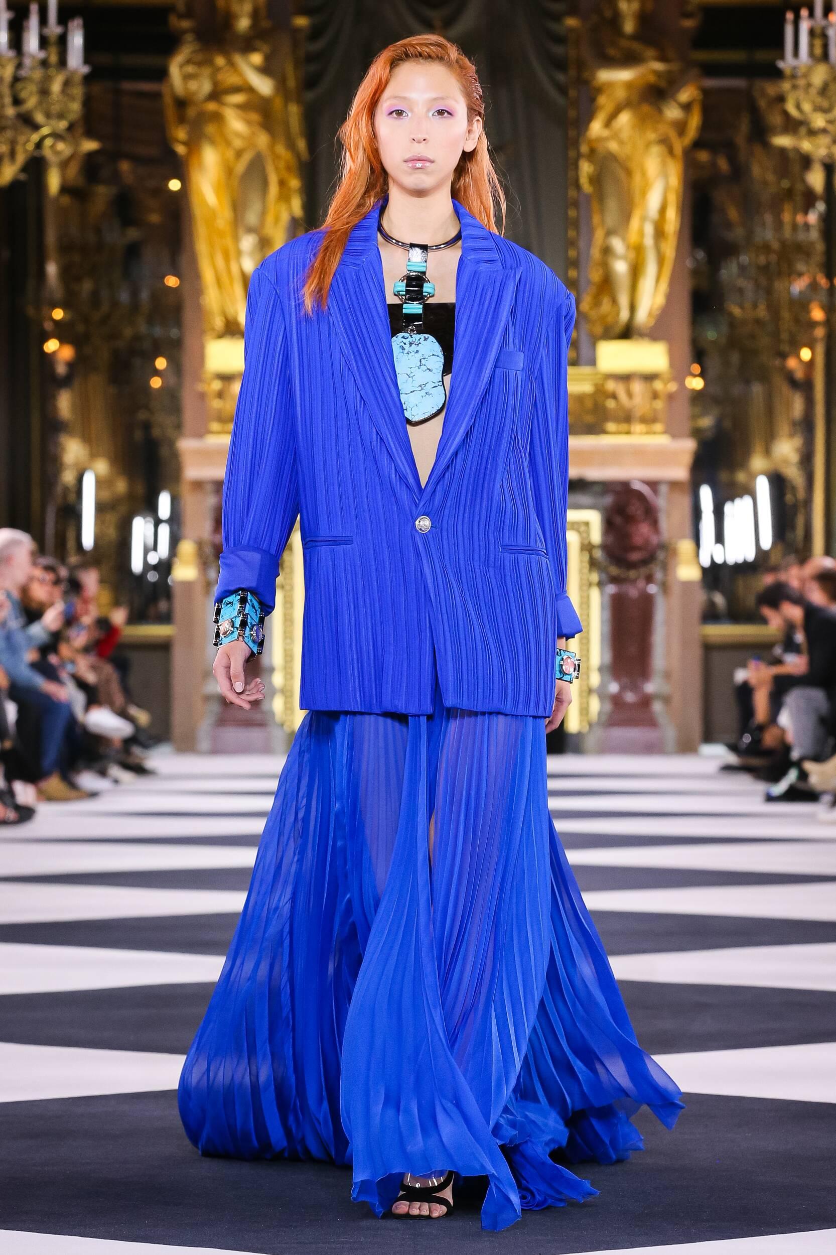Fashion 2020 Catwalk Balmain Summer