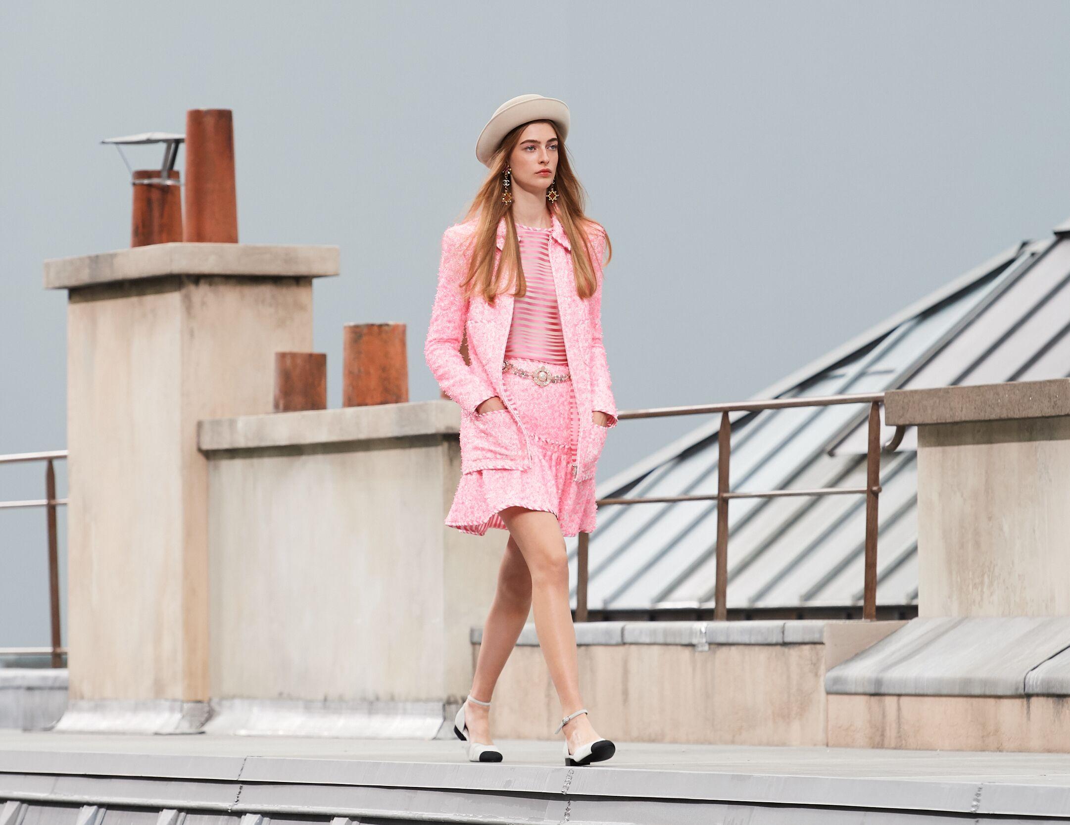 Fashion 2020 Catwalk Chanel