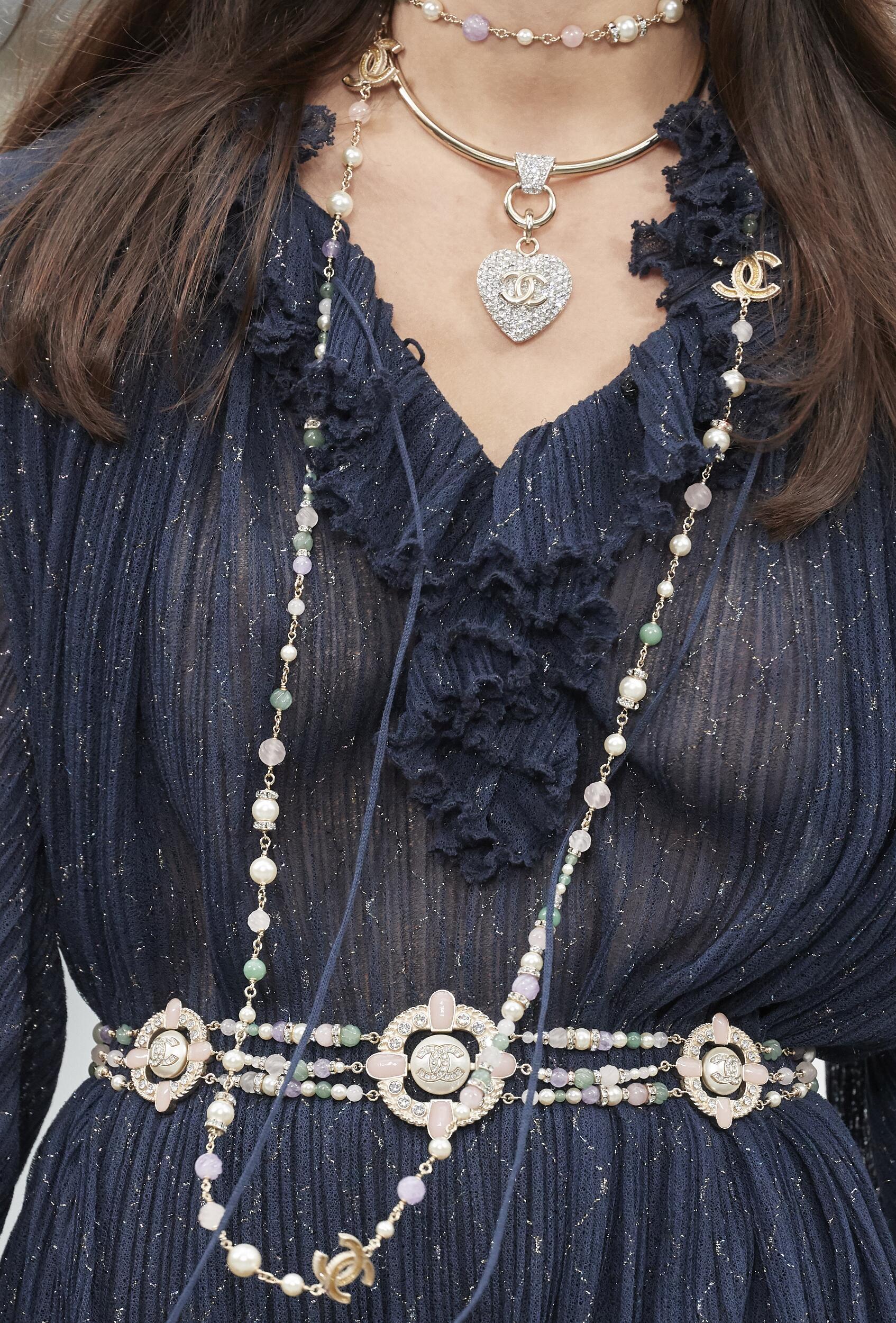 Fashion 2020 Catwalk Detail Chanel