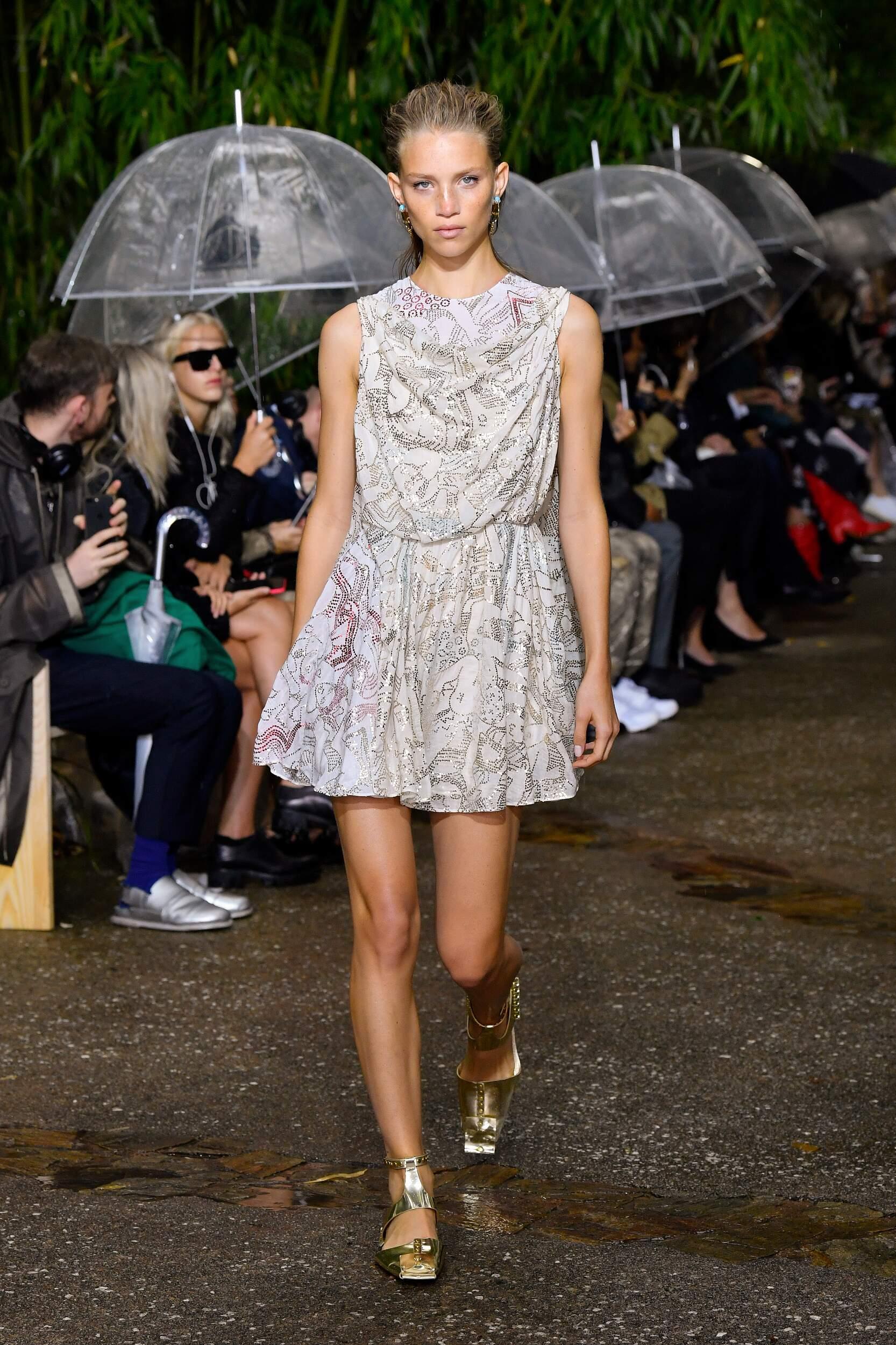 Fashion 2020 Catwalk Lanvin Summer Womens Collection