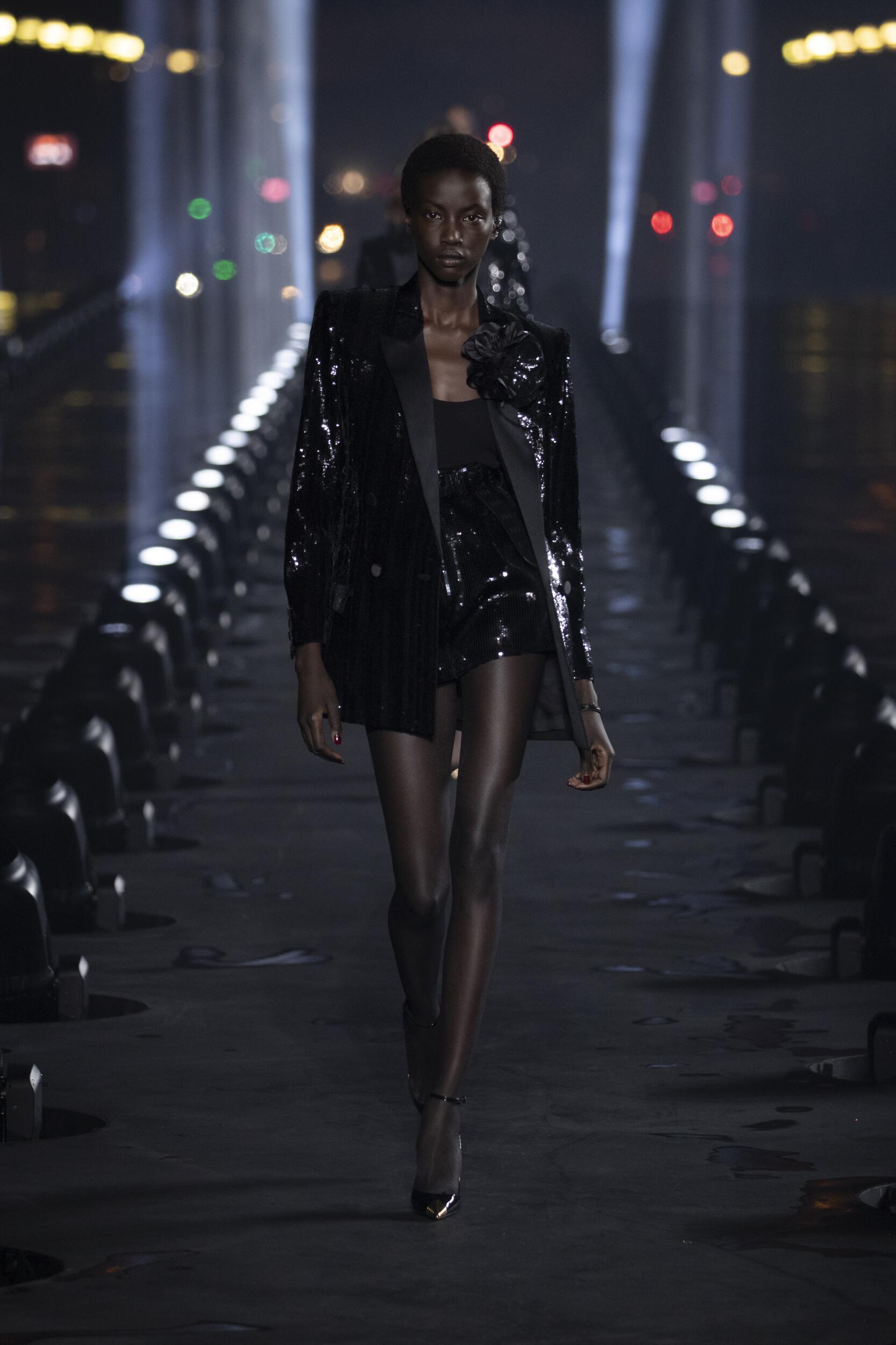 Fashion 2020 Catwalk Saint Laurent Summer Woman Collection