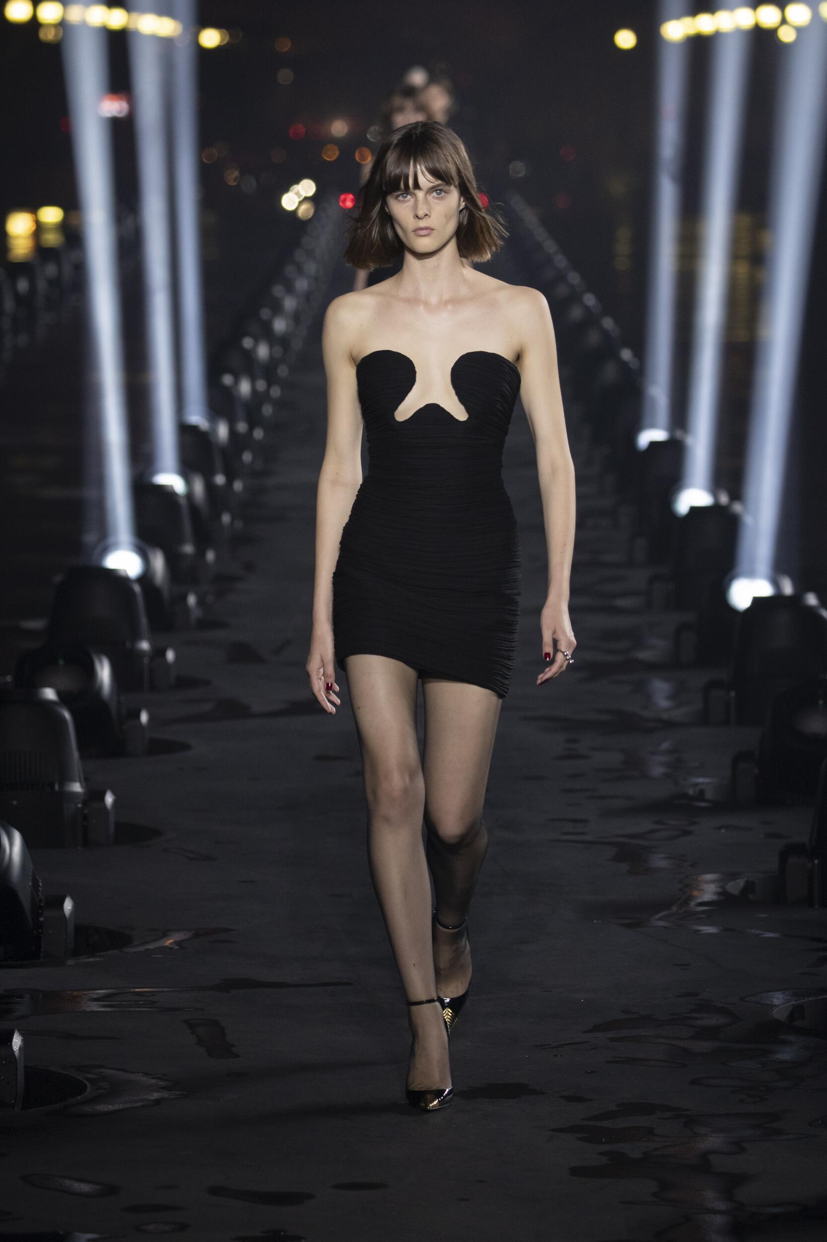 Fashion 2020 Catwalk Saint Laurent