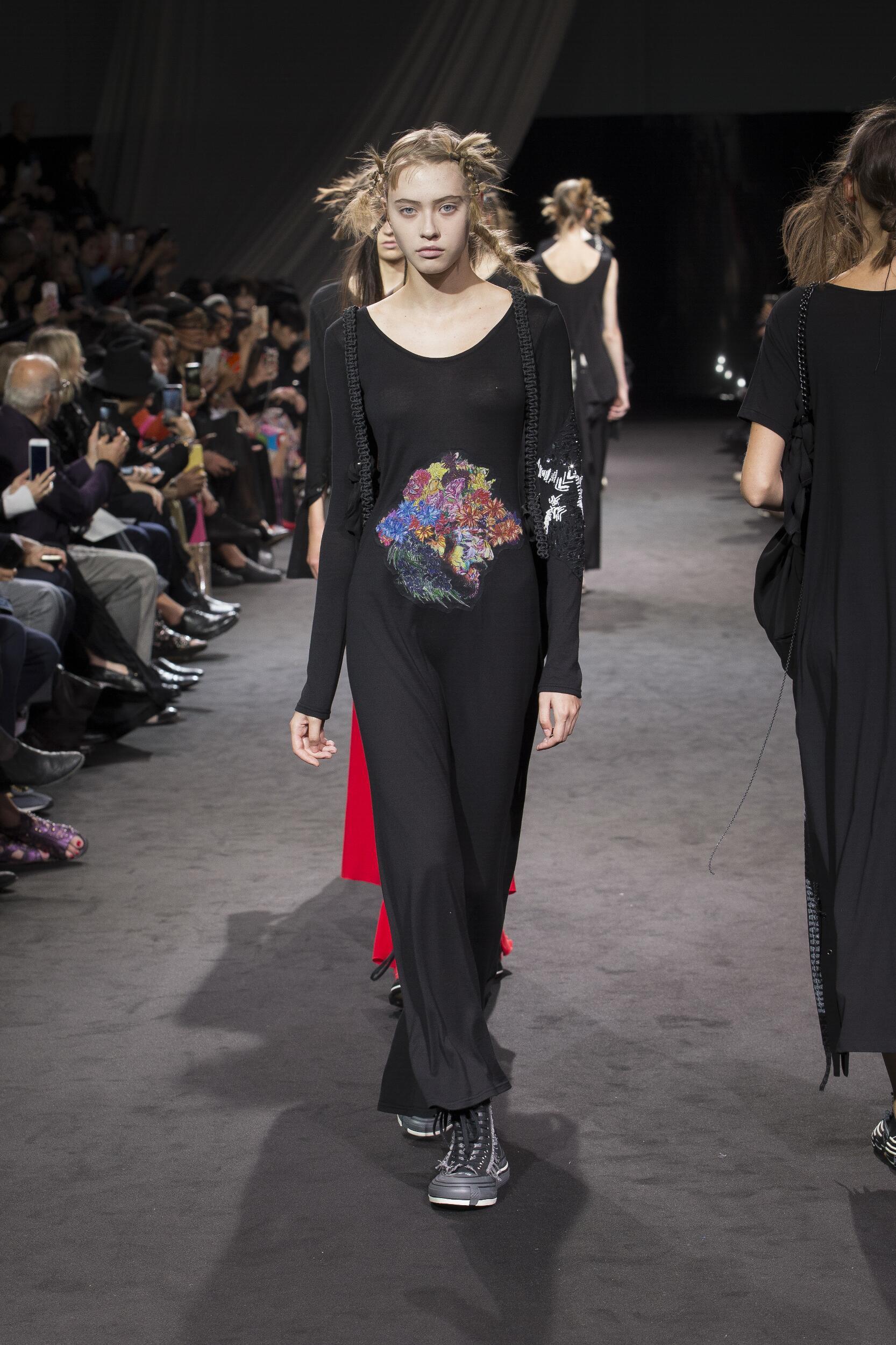Fashion 2020 Catwalk Yohji Yamamoto Summer