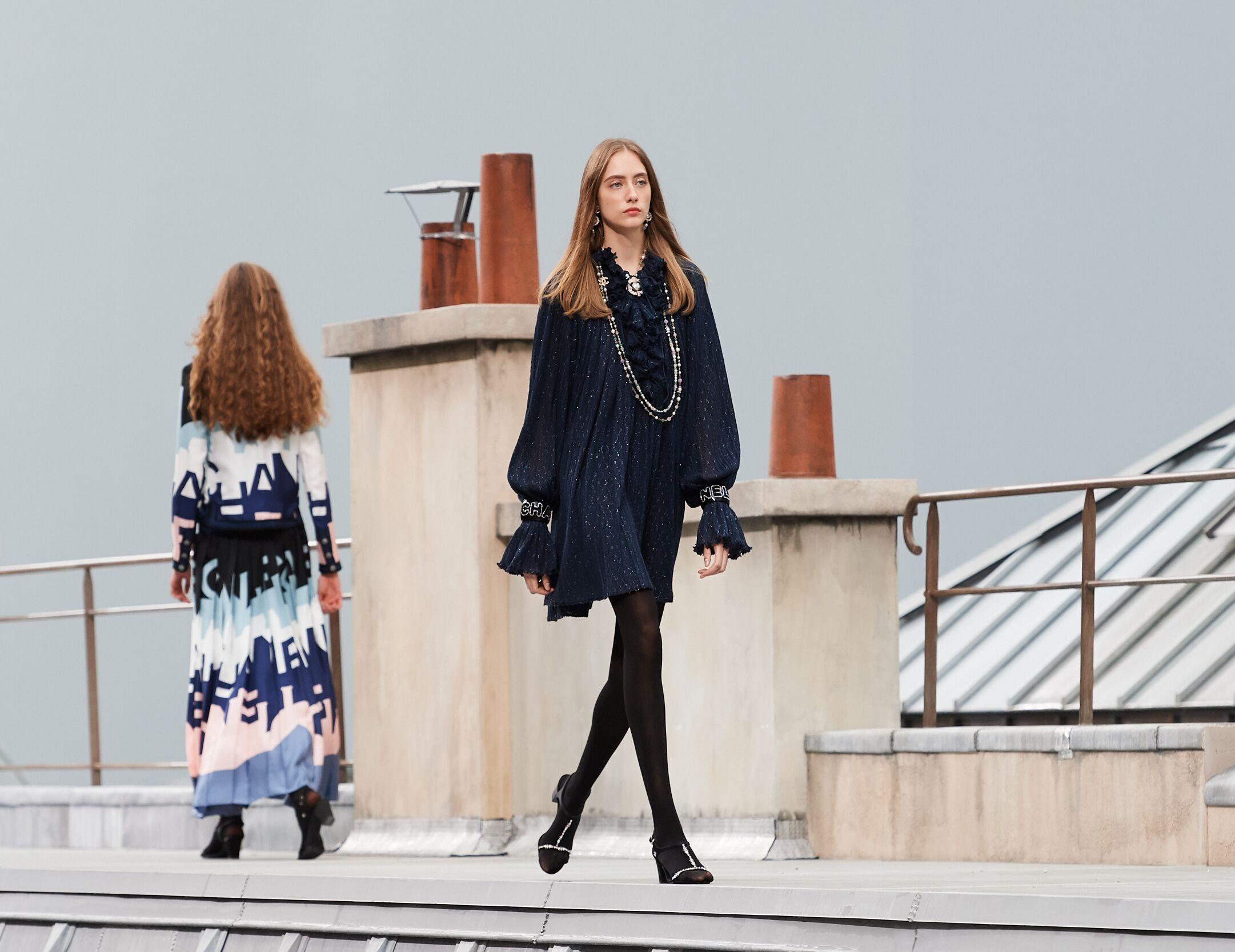 Fashion 2020 Runway Chanel Summer