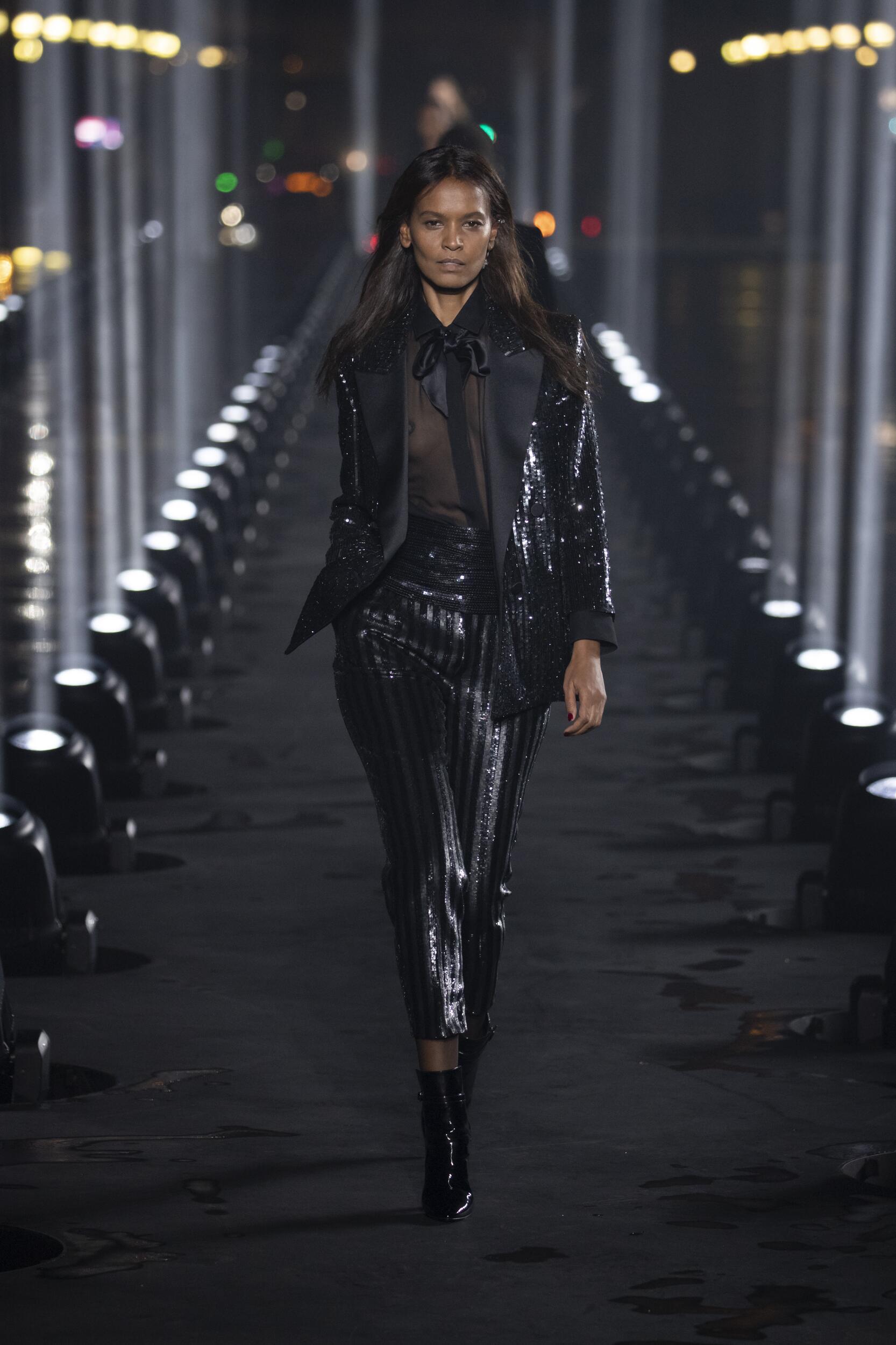 Fashion 2020 Runway Saint Laurent SS
