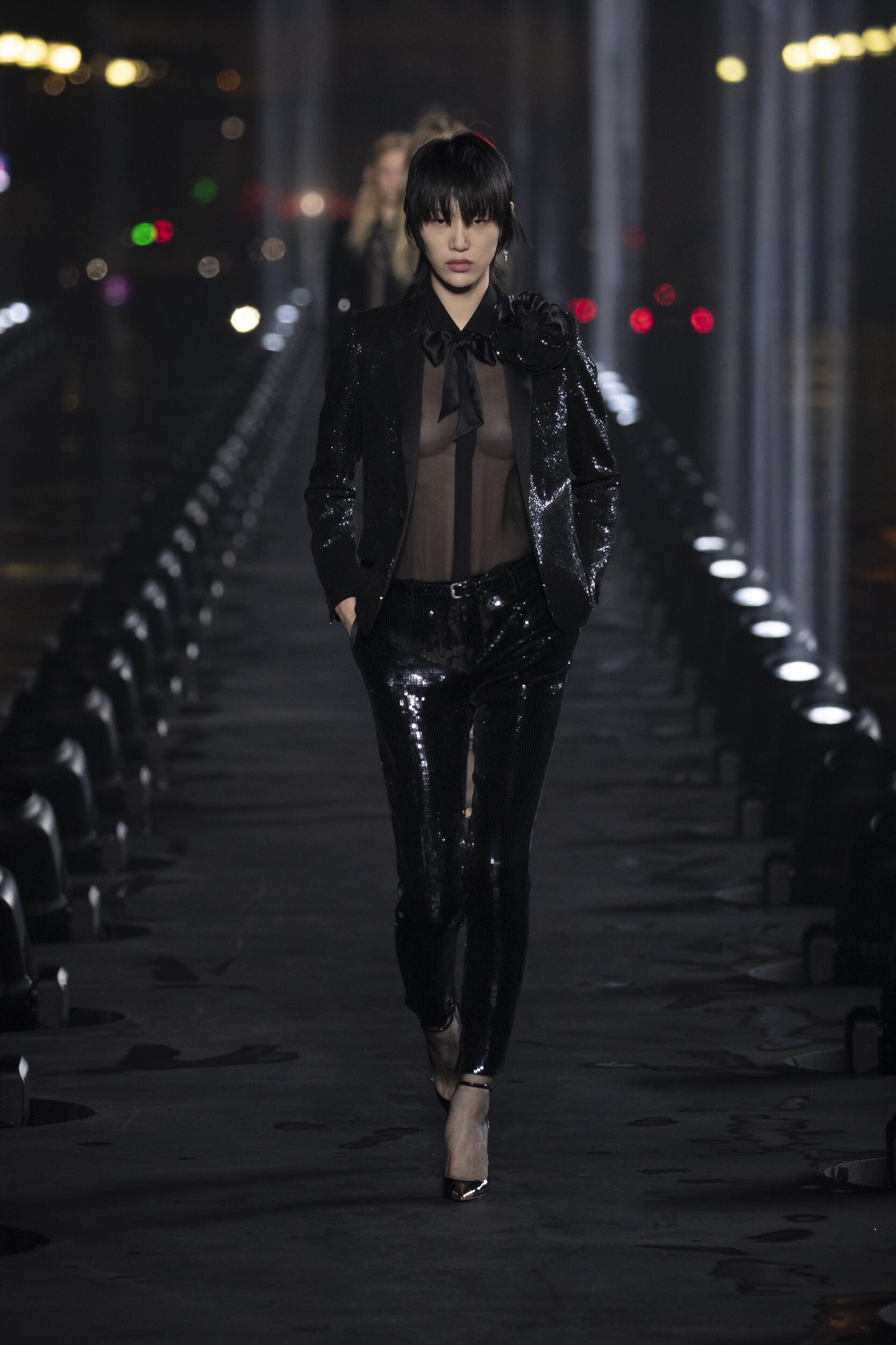 Fashion 2020 Runway Saint Laurent Summer Woman