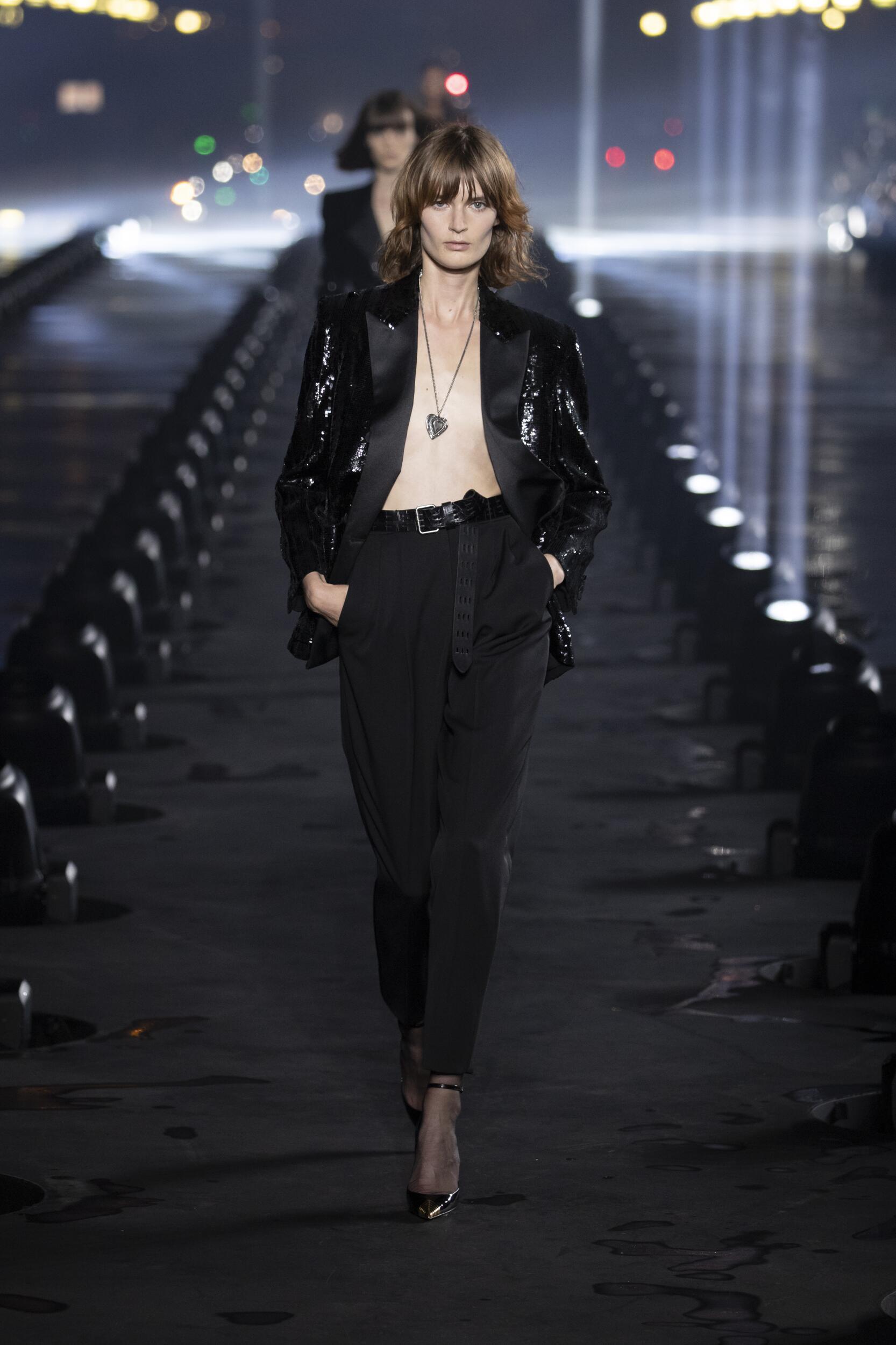 Fashion 2020 Runway Woman Saint Laurent Summer