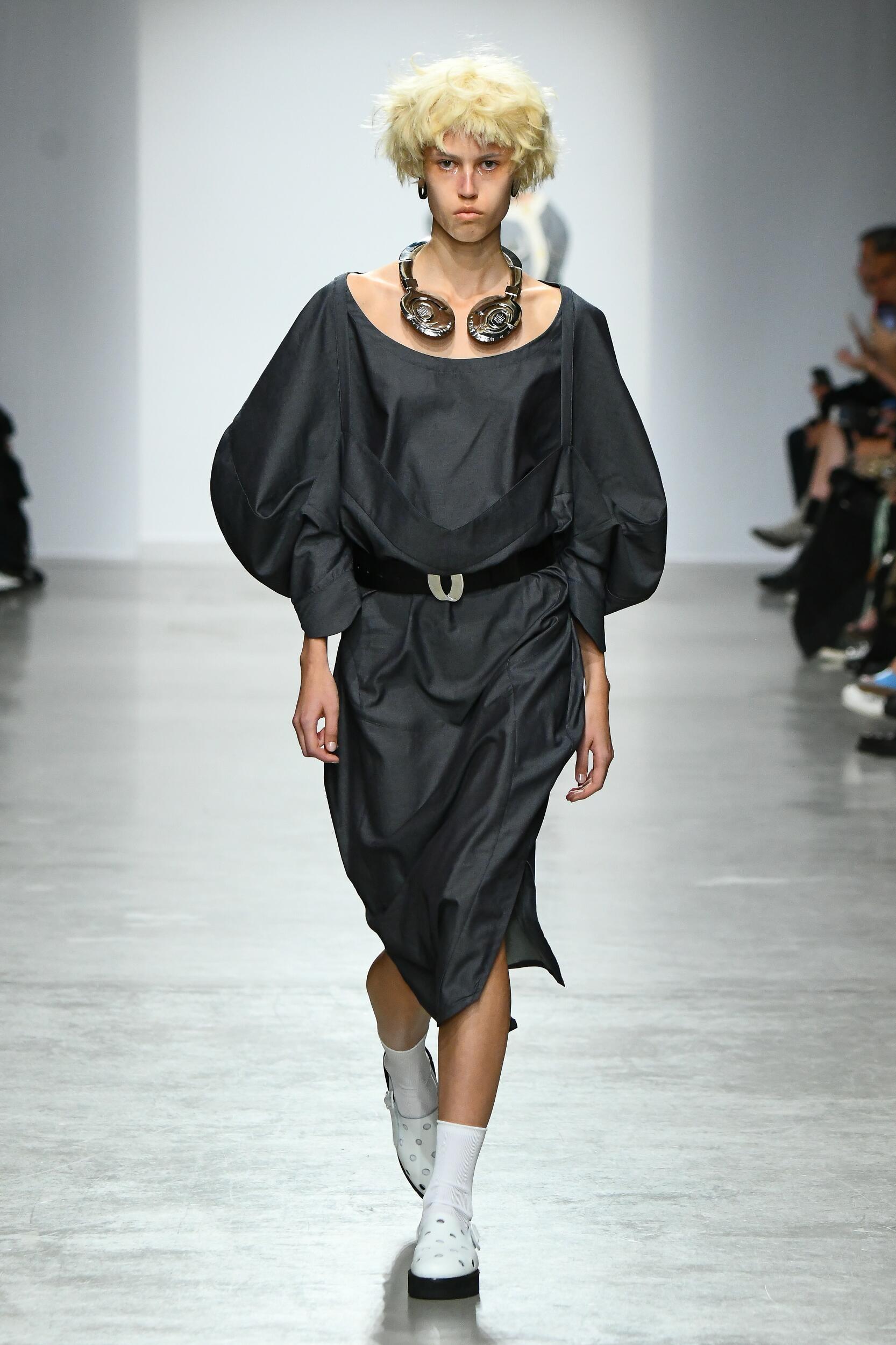 Fashion Model Anrealage Catwalk