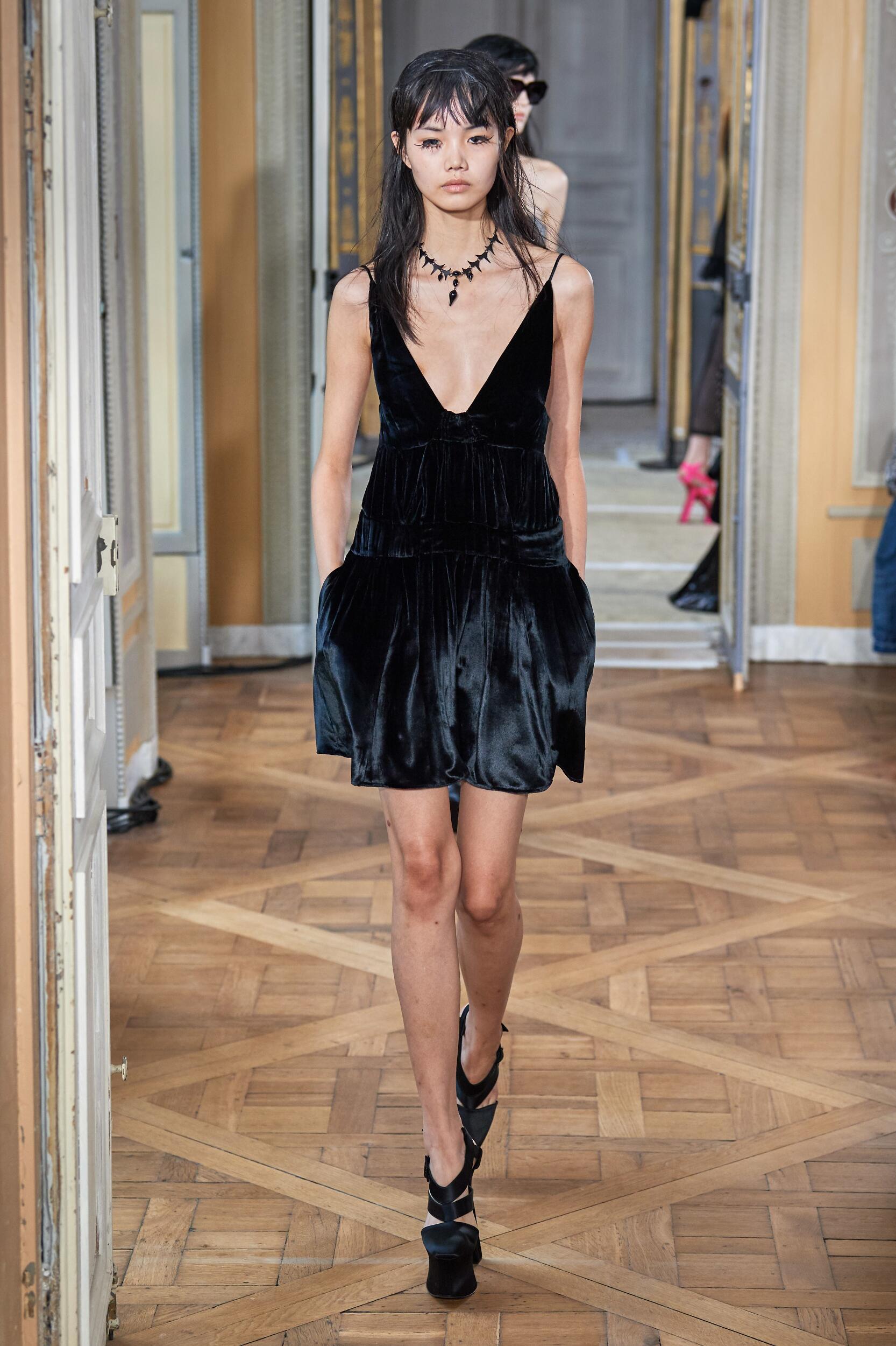 Fashion Model Olivier Theyskens Catwalk