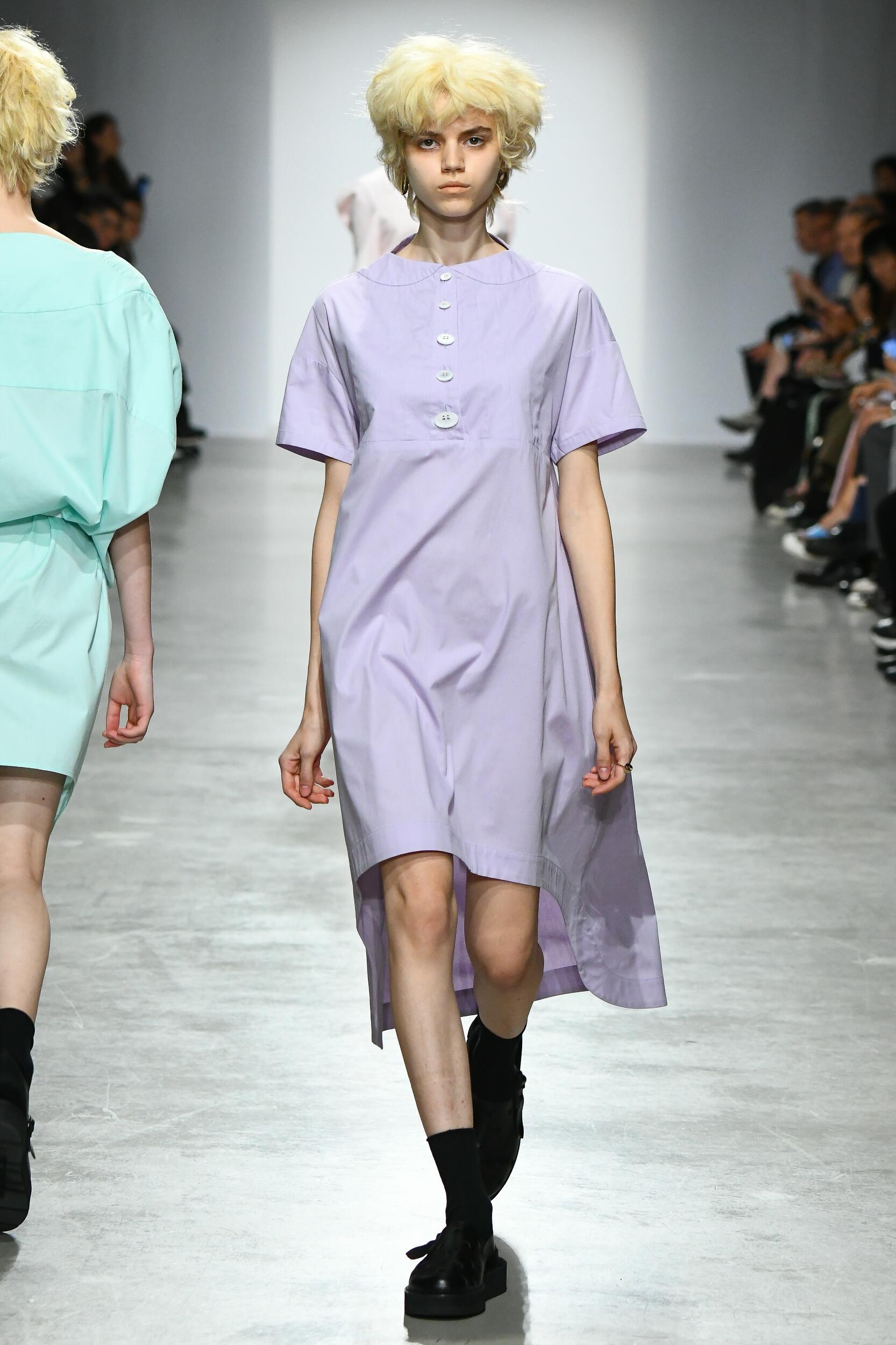 Fashion Model Woman Anrealage Catwalk