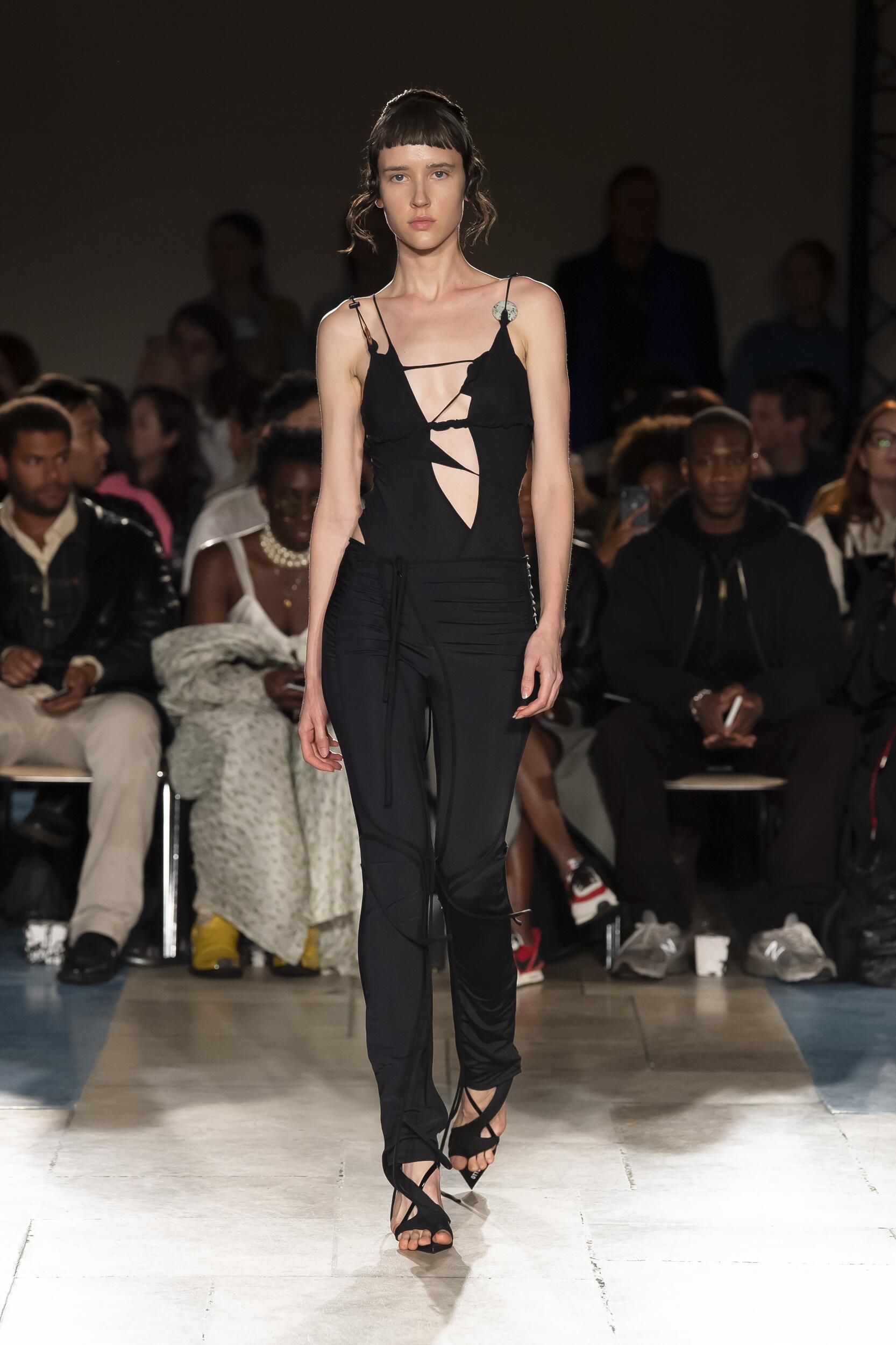 Fashion Model Woman Ottolinger Catwalk