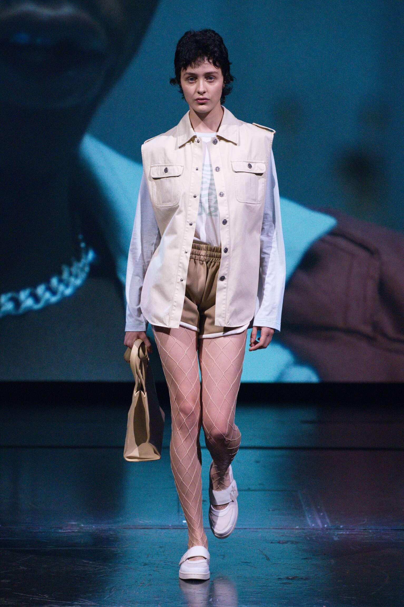 Fashion Model Woman Telfar Catwalk