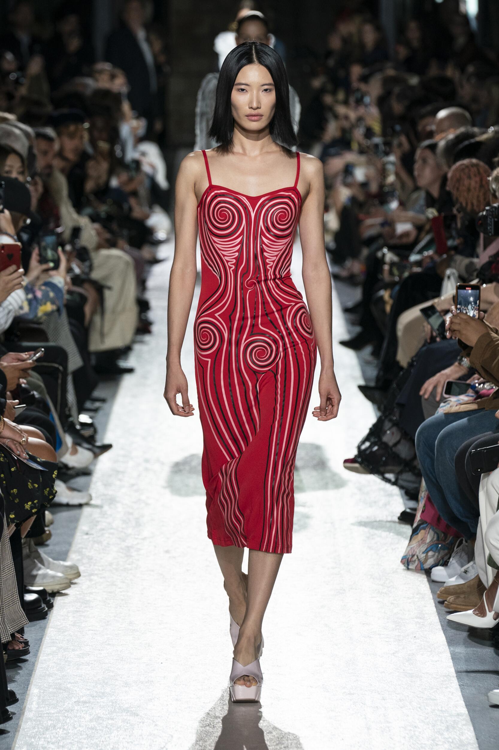 Fashion Model Woman Y/Project Catwalk