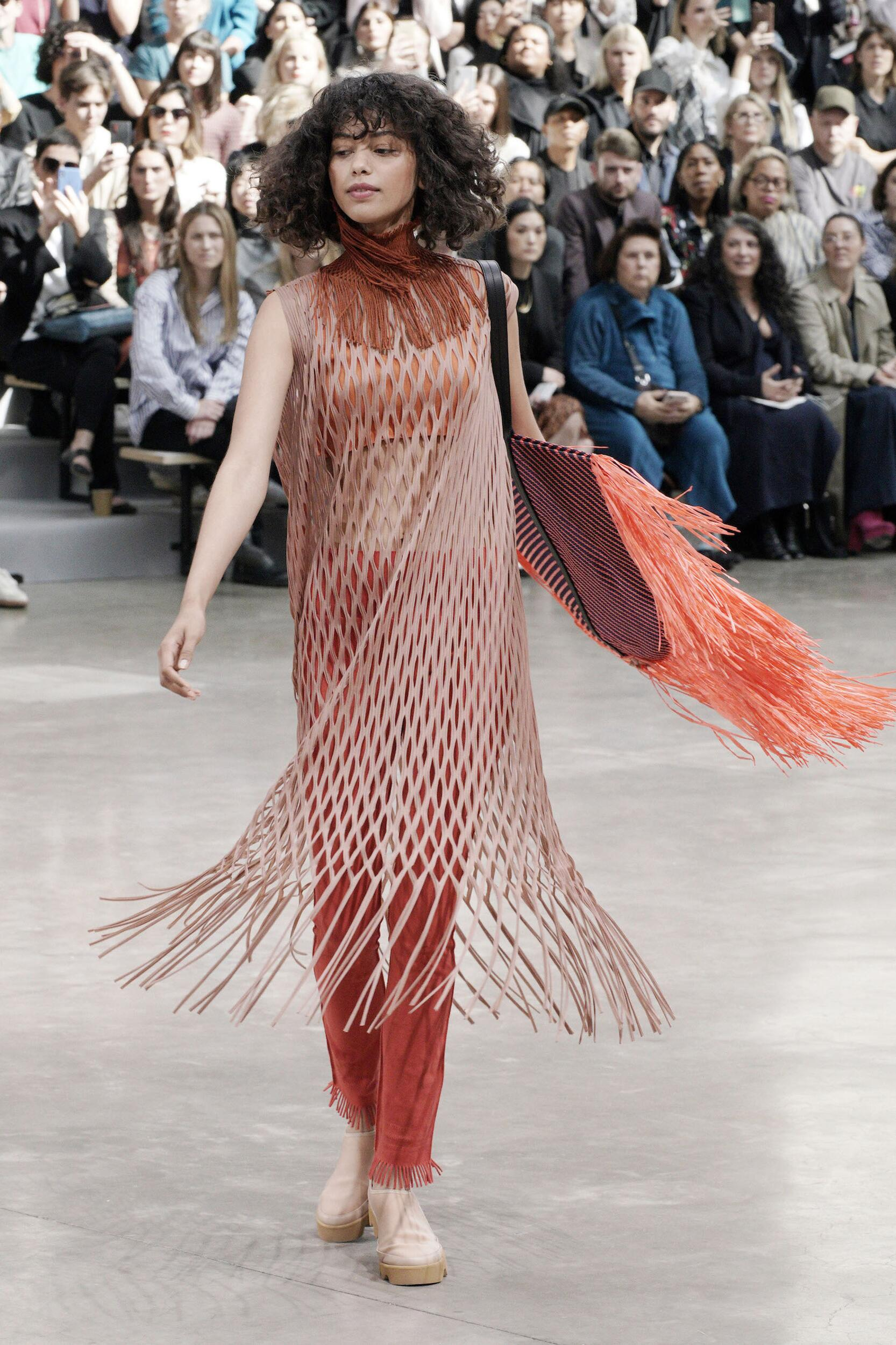 Issey Miyake Paris Fashion Week Womenswear