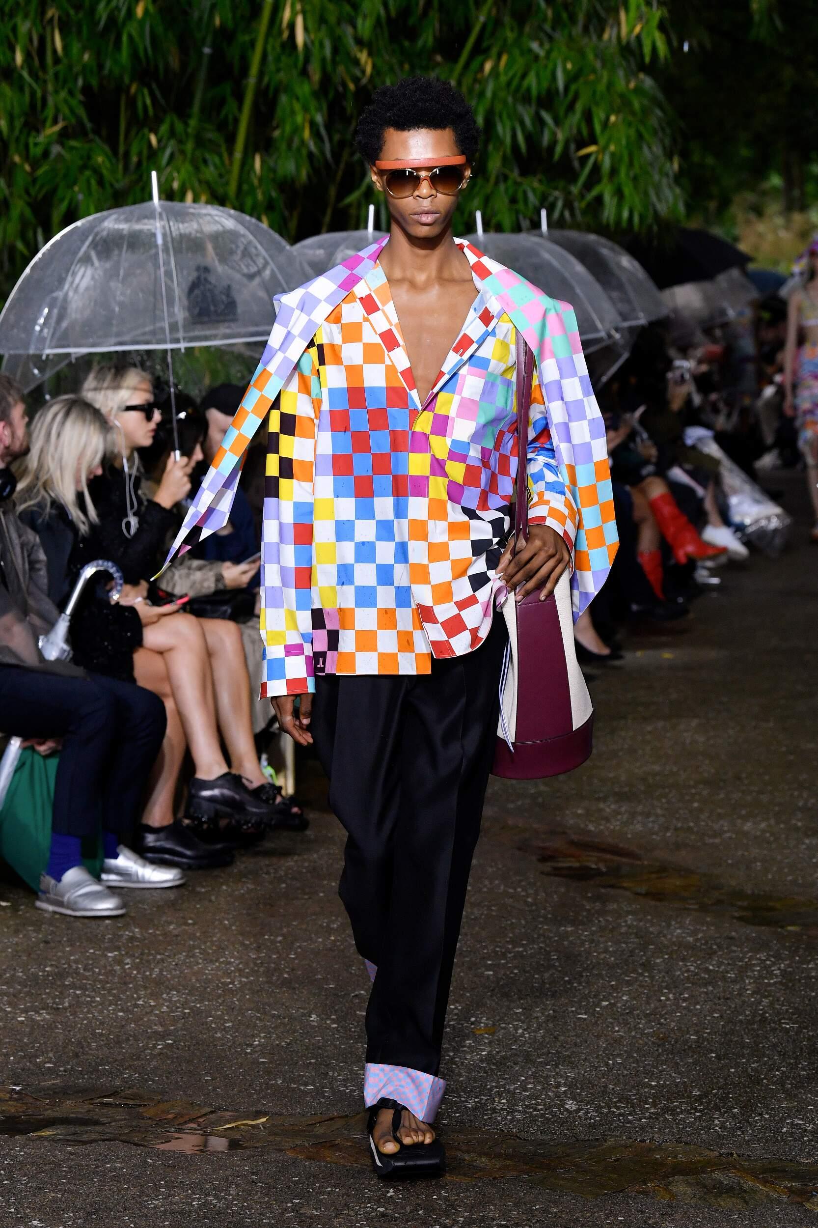 Man SS 2020 Lanvin Show Paris Fashion Week