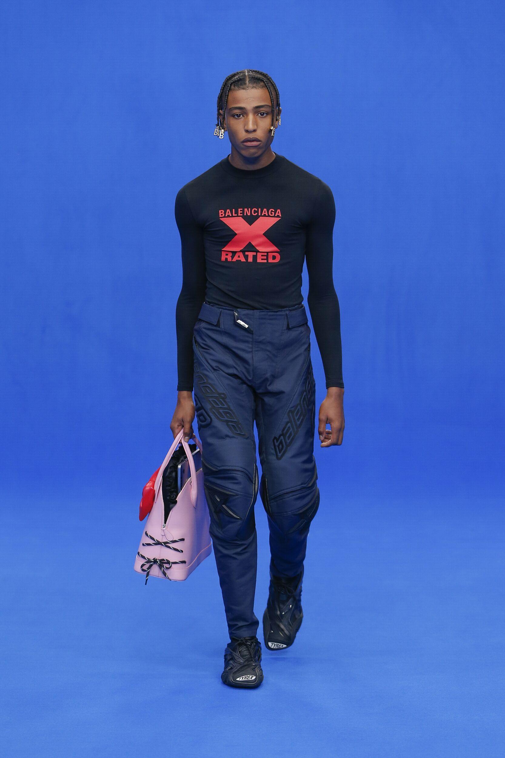 Menswear Spring Summer Balenciaga 2020