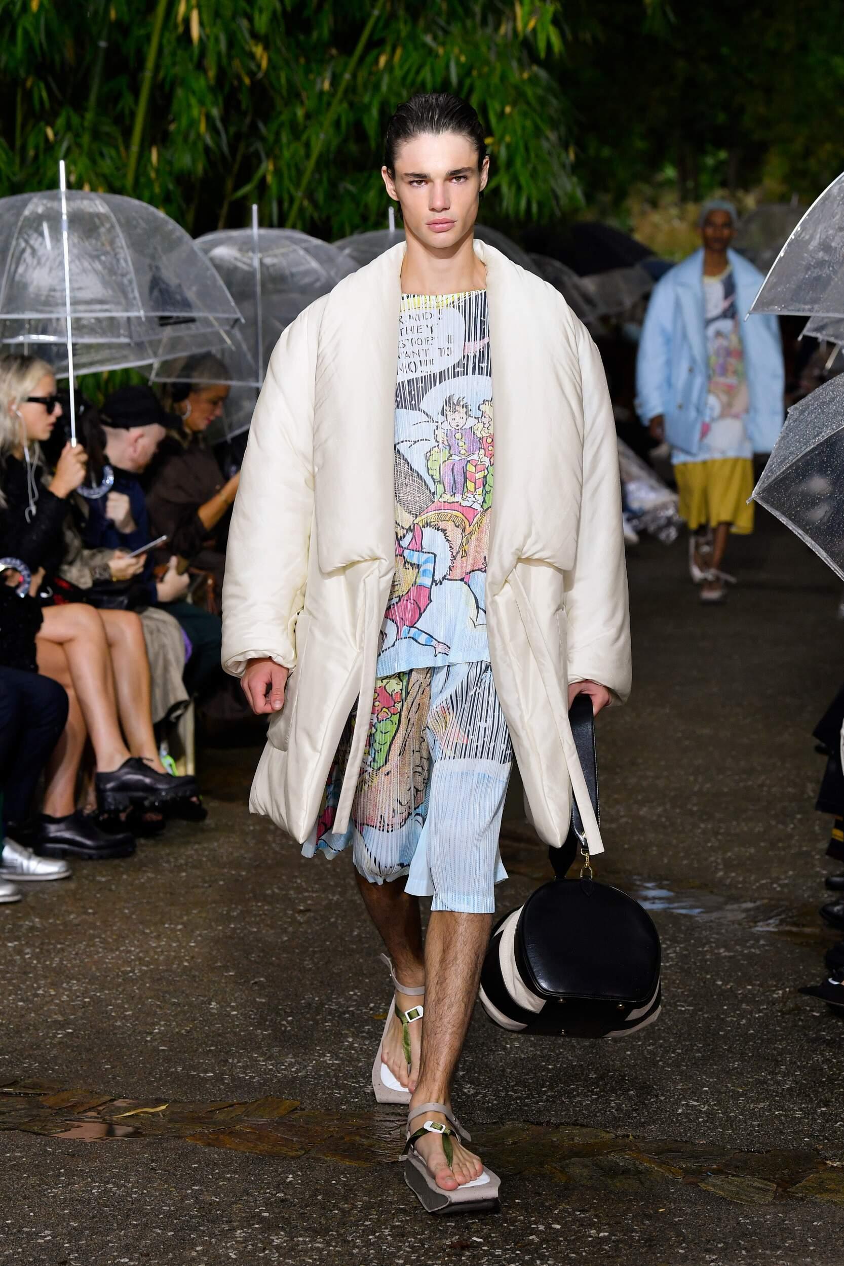 Menswear Summer Lanvin 2020