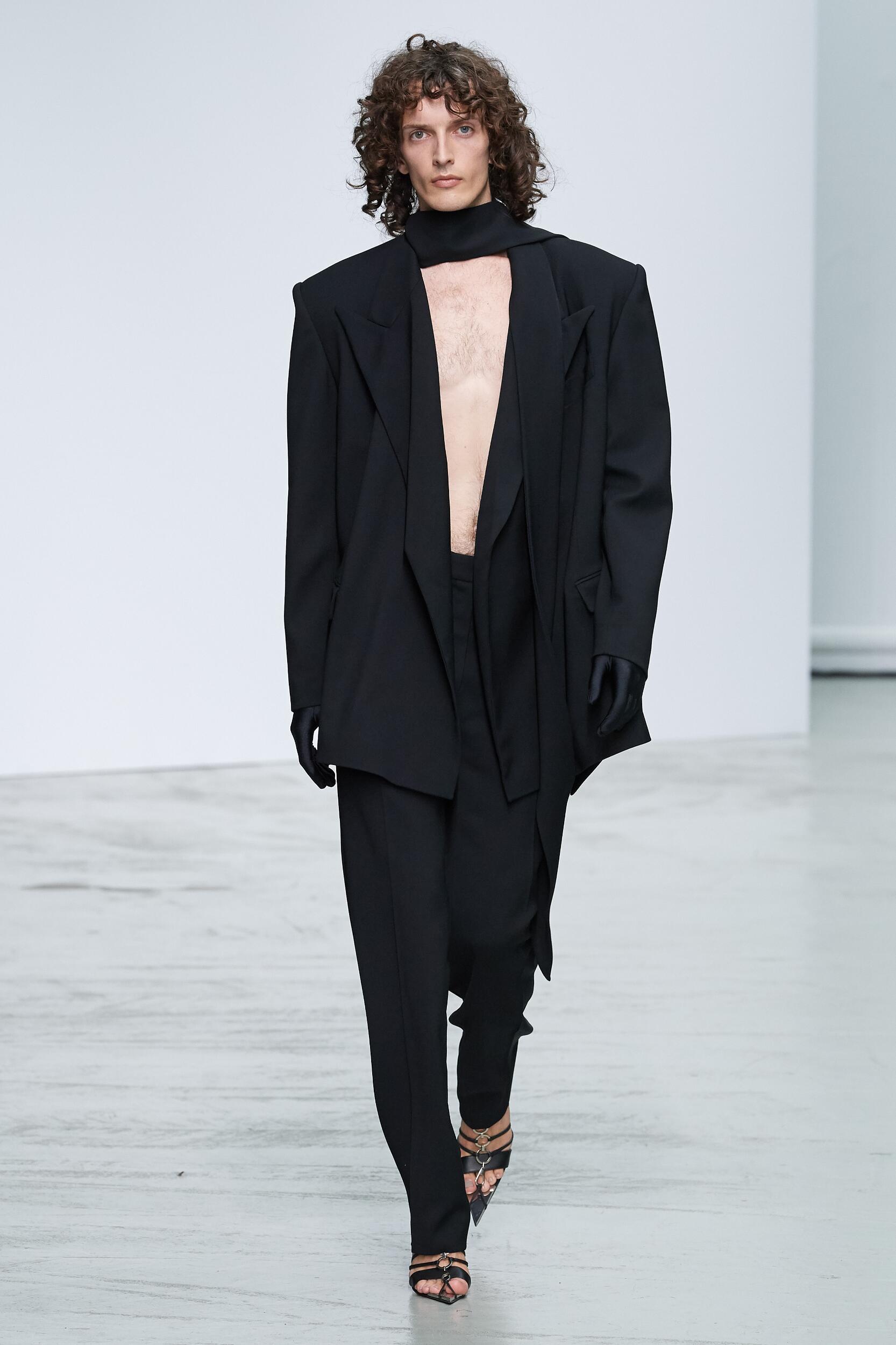 Mugler Paris Fashion Week Menswear