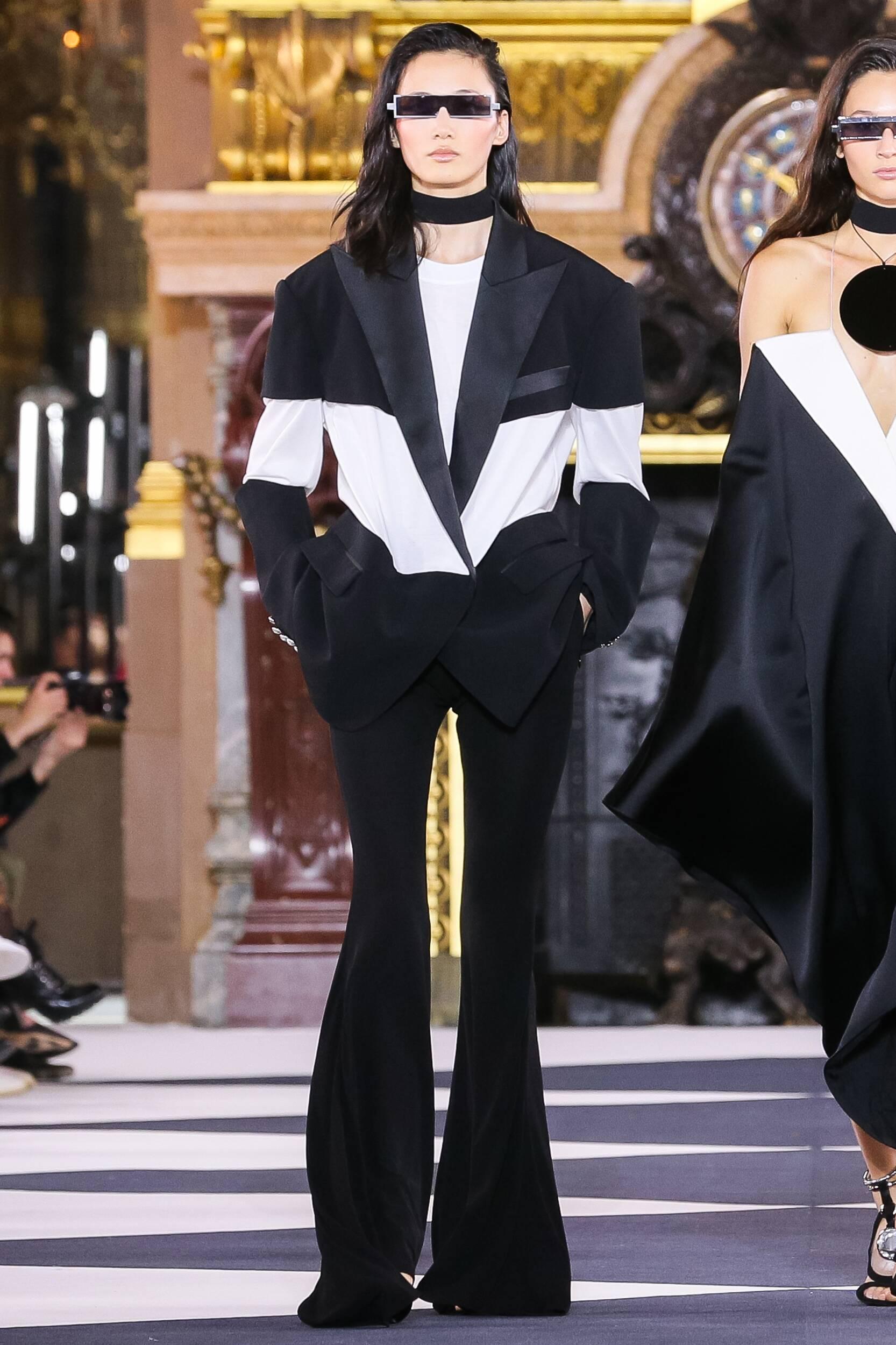Paris Runway Fashion 2020 Women Style Balmain