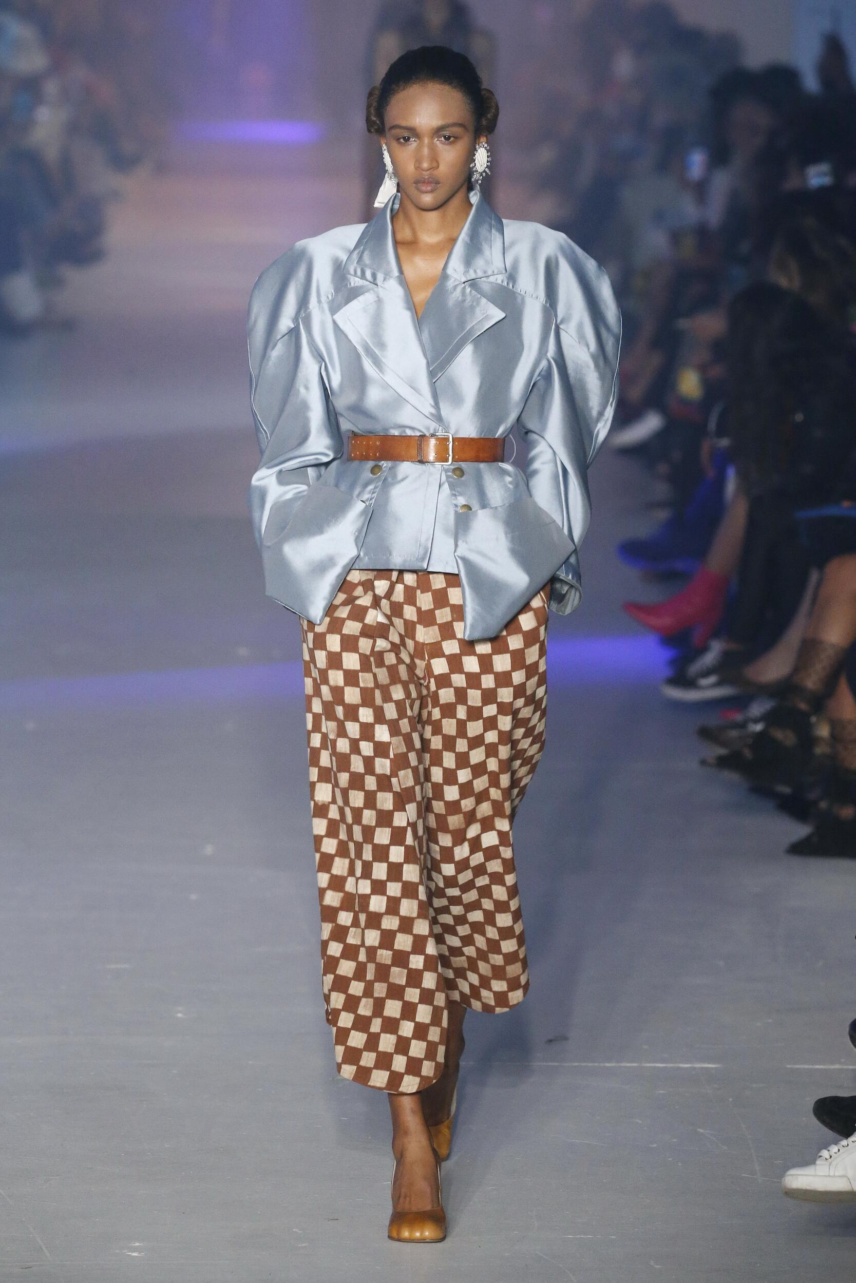 Runway Andreas Kronthaler for Vivienne Westwood Spring Summer 2020 Women's Collection Paris Fashion Week
