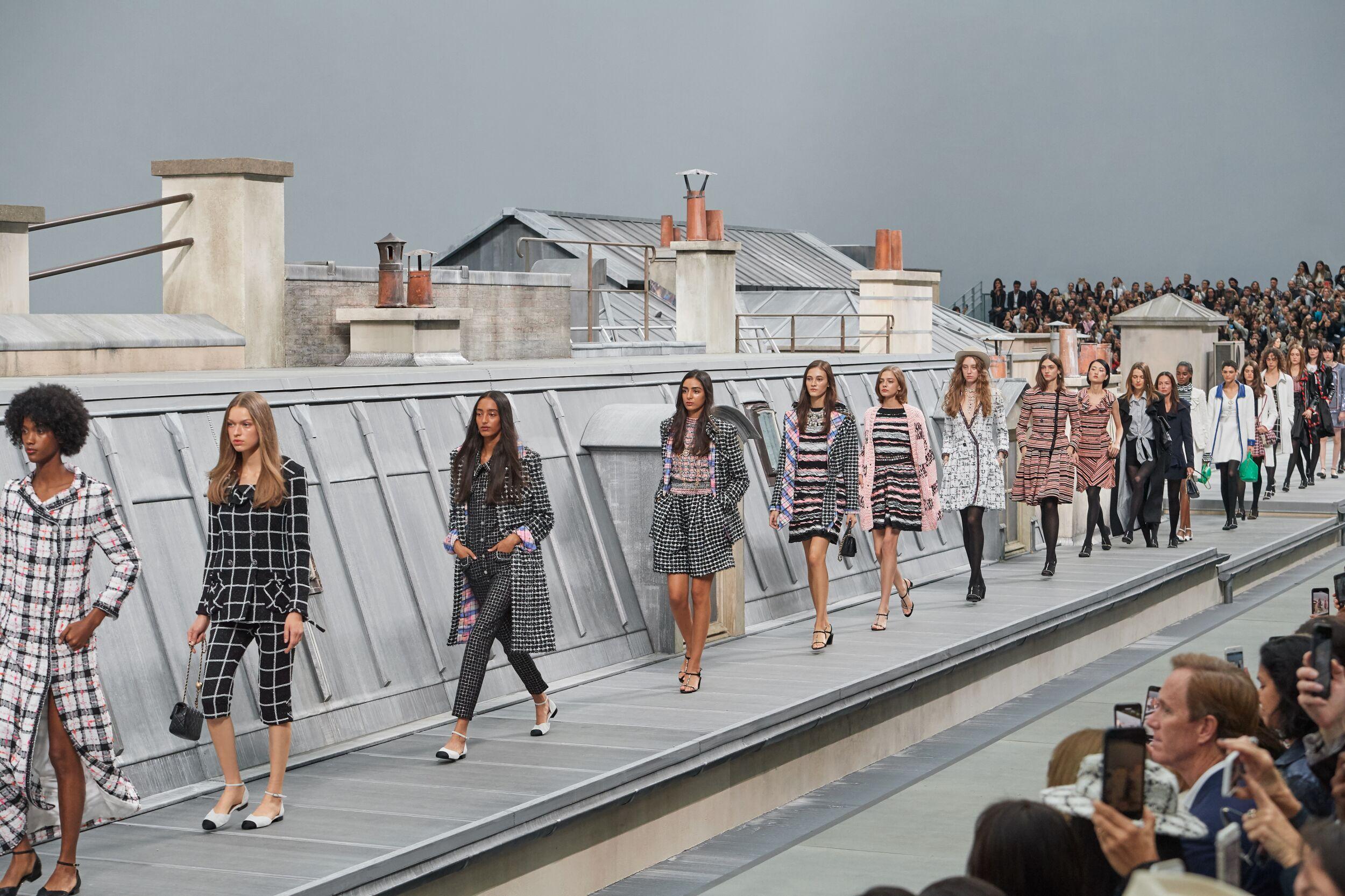 Runway Fashion 2020 Women Finale Chanel